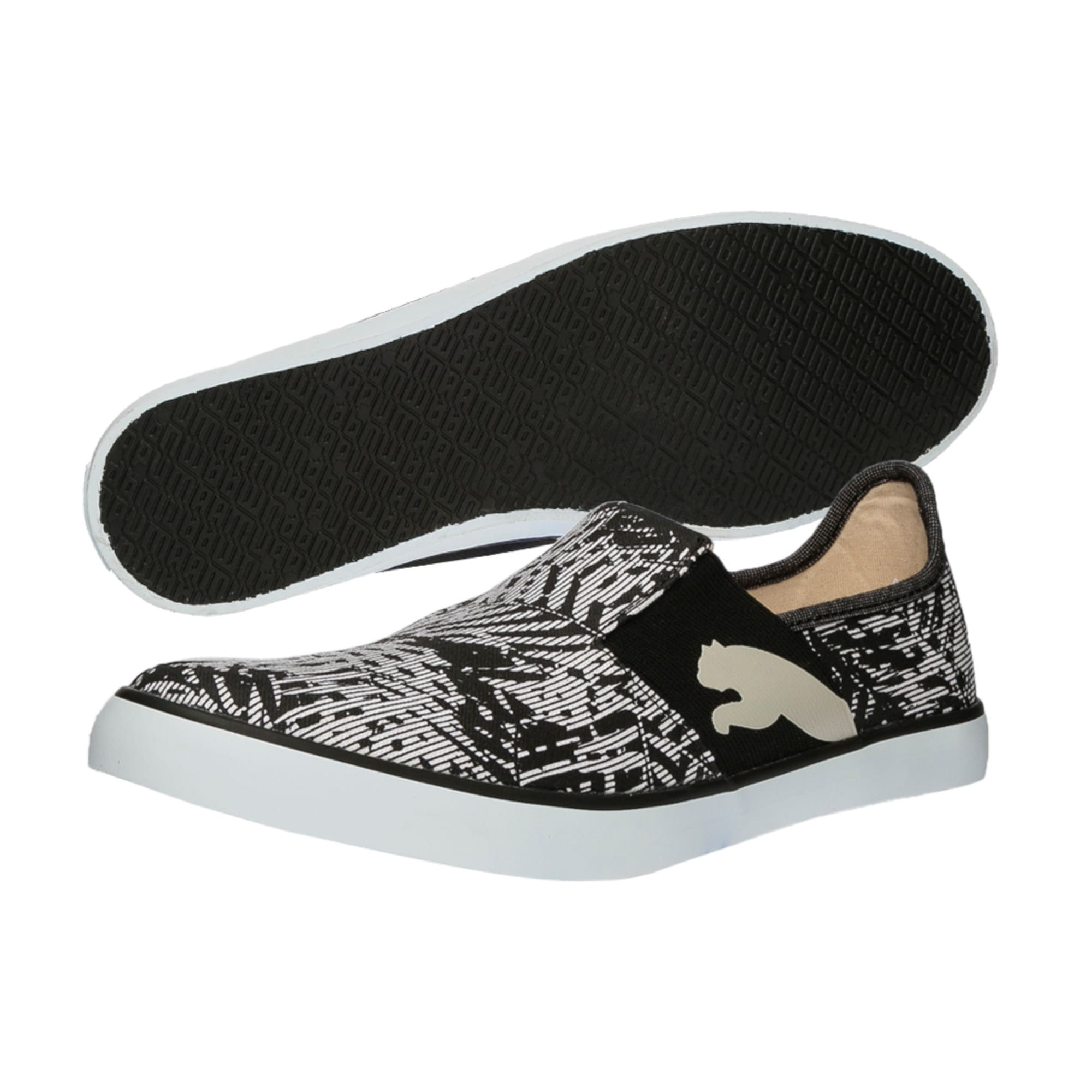 Thumbnail 6 of Lazy Slip On Graphic DP, Black-Gray Violet-White, medium-IND