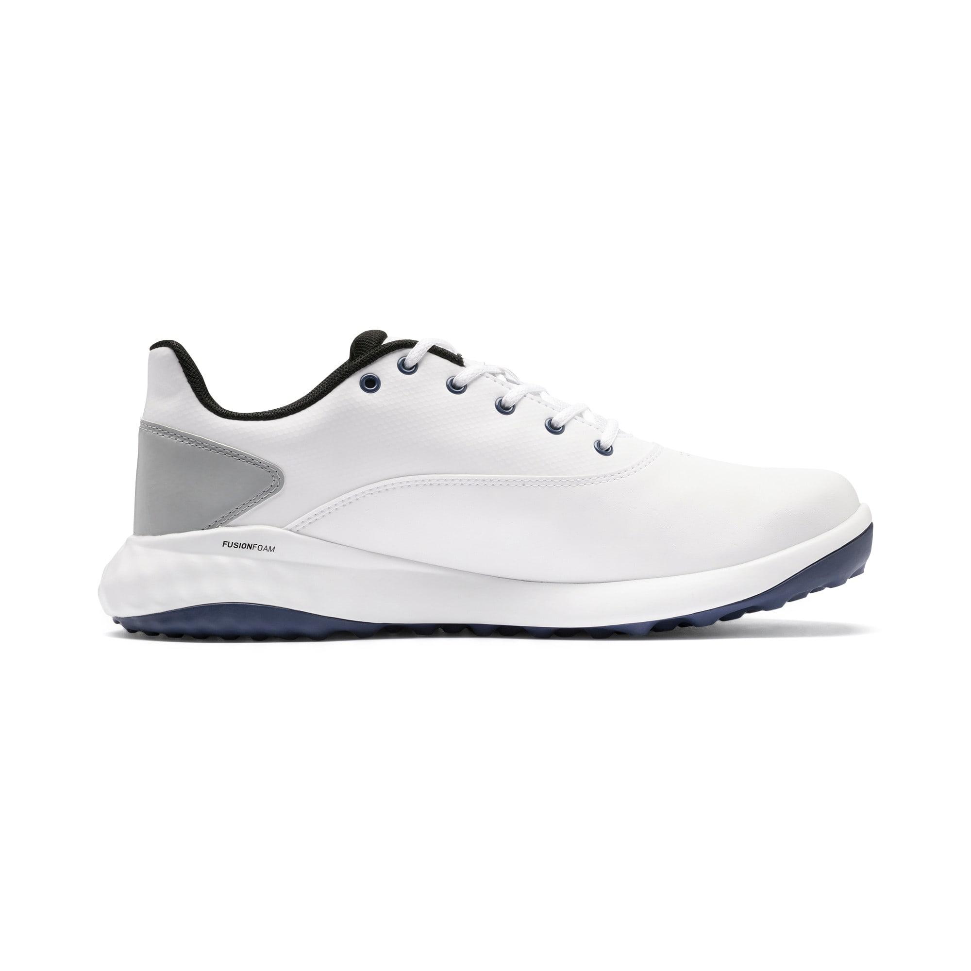 Thumbnail 5 of Chaussure de golf GRIP FUSION pour homme, White-Black-TRUE BLUE, medium