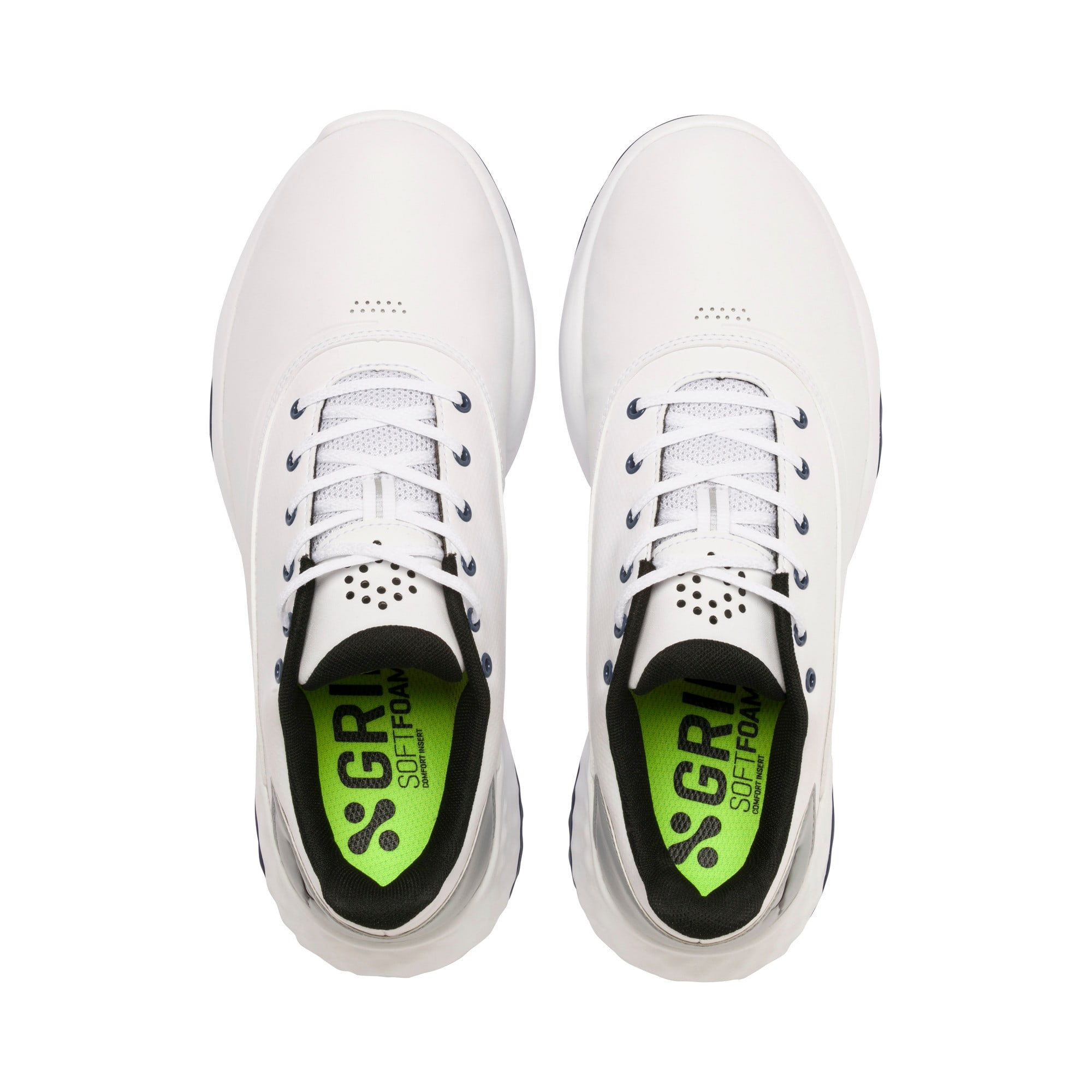 Thumbnail 6 of Chaussure de golf GRIP FUSION pour homme, White-Black-TRUE BLUE, medium