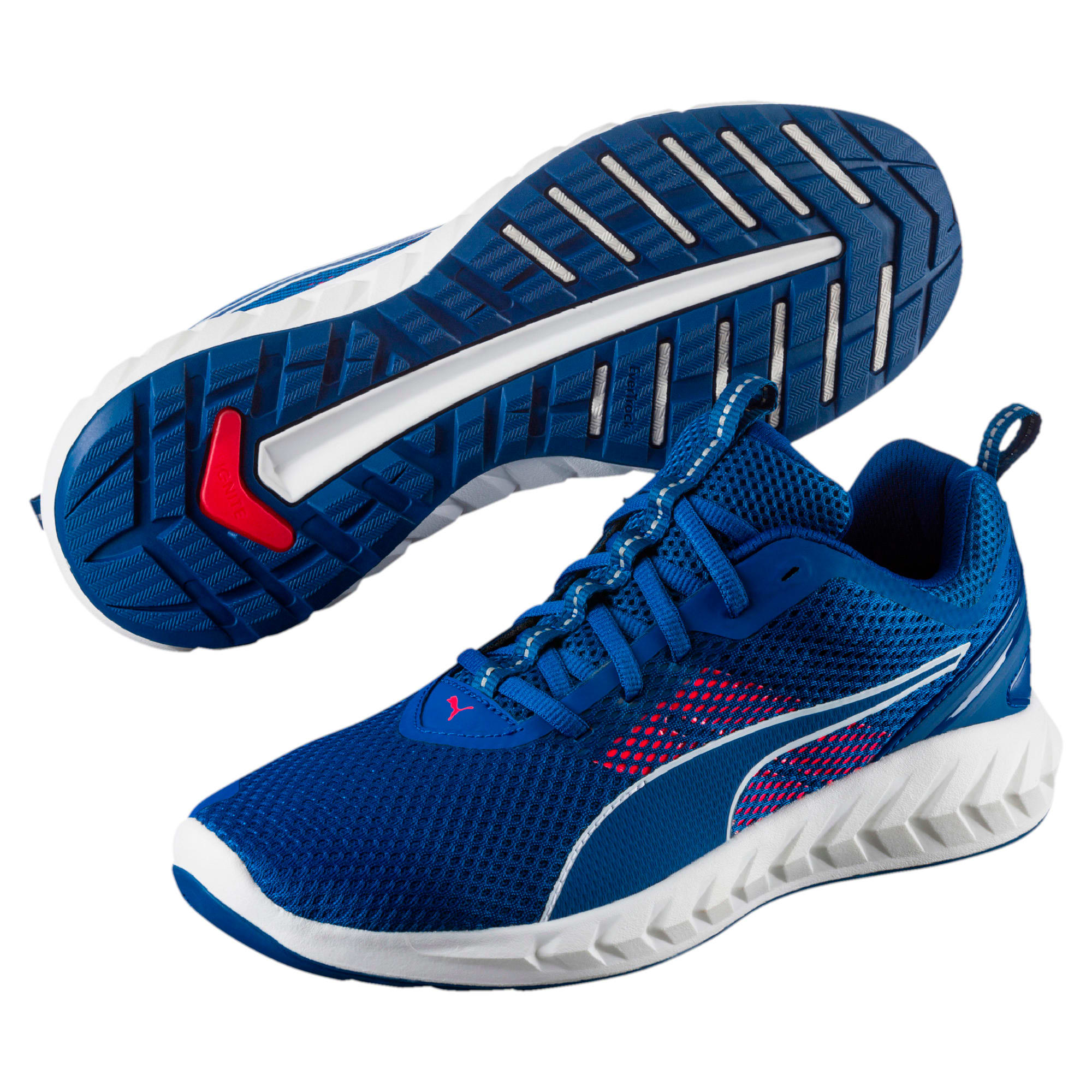 Thumbnail 6 of IGNITE Ultimate 2 Men's Running Shoes, TRUE BLUE-Bright Plasma, medium-IND