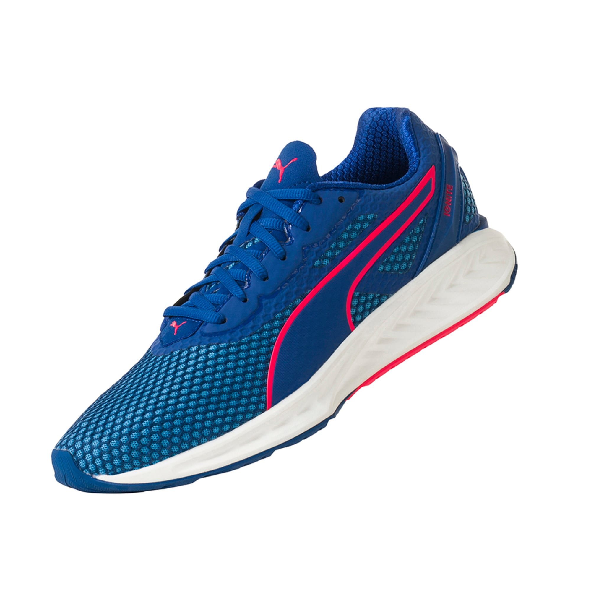 Thumbnail 7 of IGNITE 3 Men's Running Shoes, TRUEBLUE-BLUEDANUBE-Plasma, medium-IND