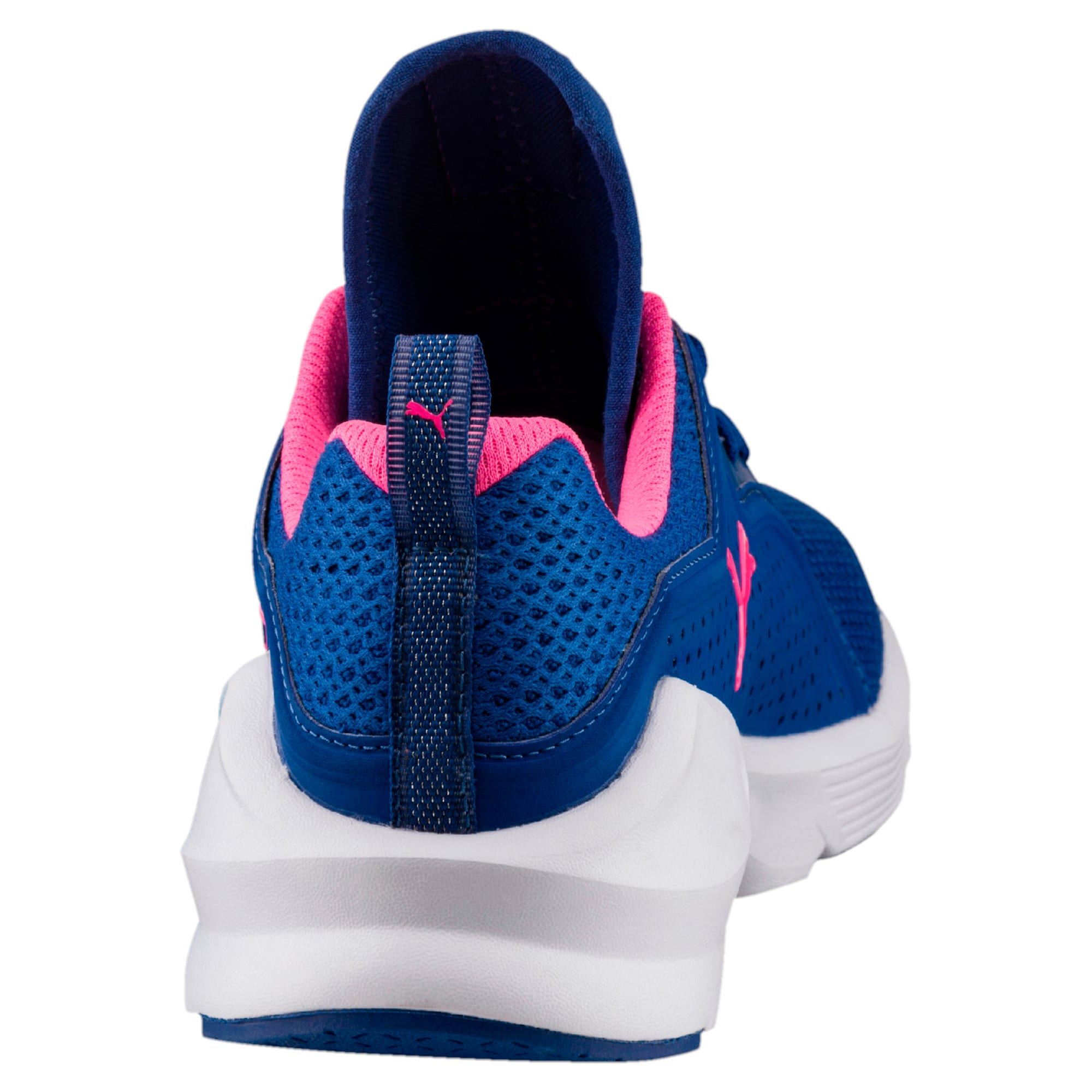 Thumbnail 3 of PUMA Fierce Lace Training Shoes, TRUE BLUE-KNOCKOUT PINK, medium-IND