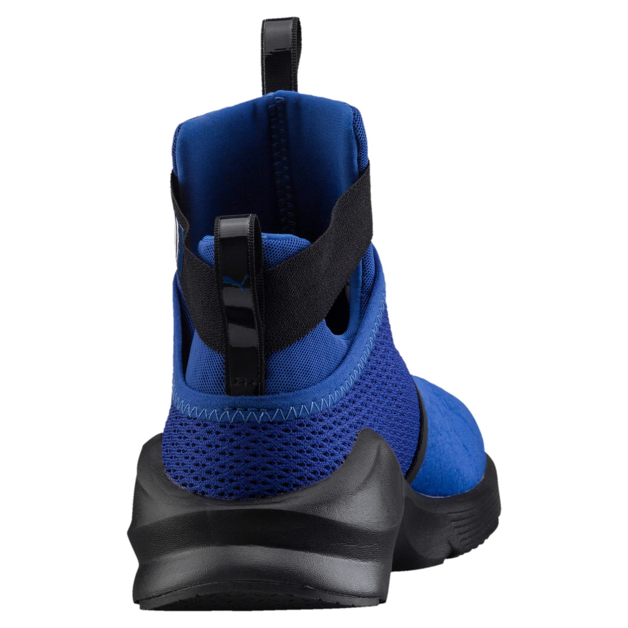 Thumbnail 3 of PUMA Fierce Strap Training Shoes, TRUE BLUE-Puma Black, medium-IND