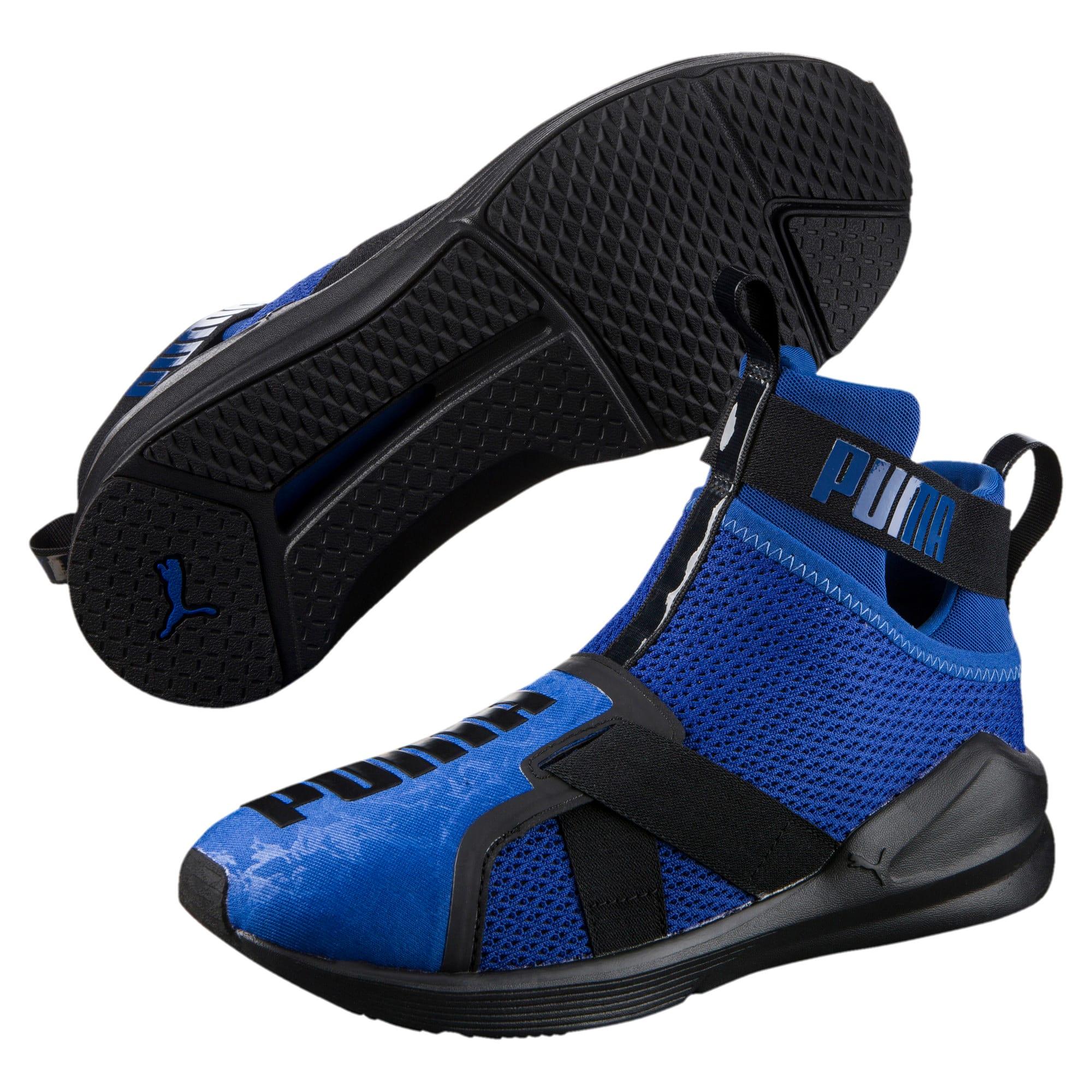 Thumbnail 2 of PUMA Fierce Strap Training Shoes, TRUE BLUE-Puma Black, medium-IND