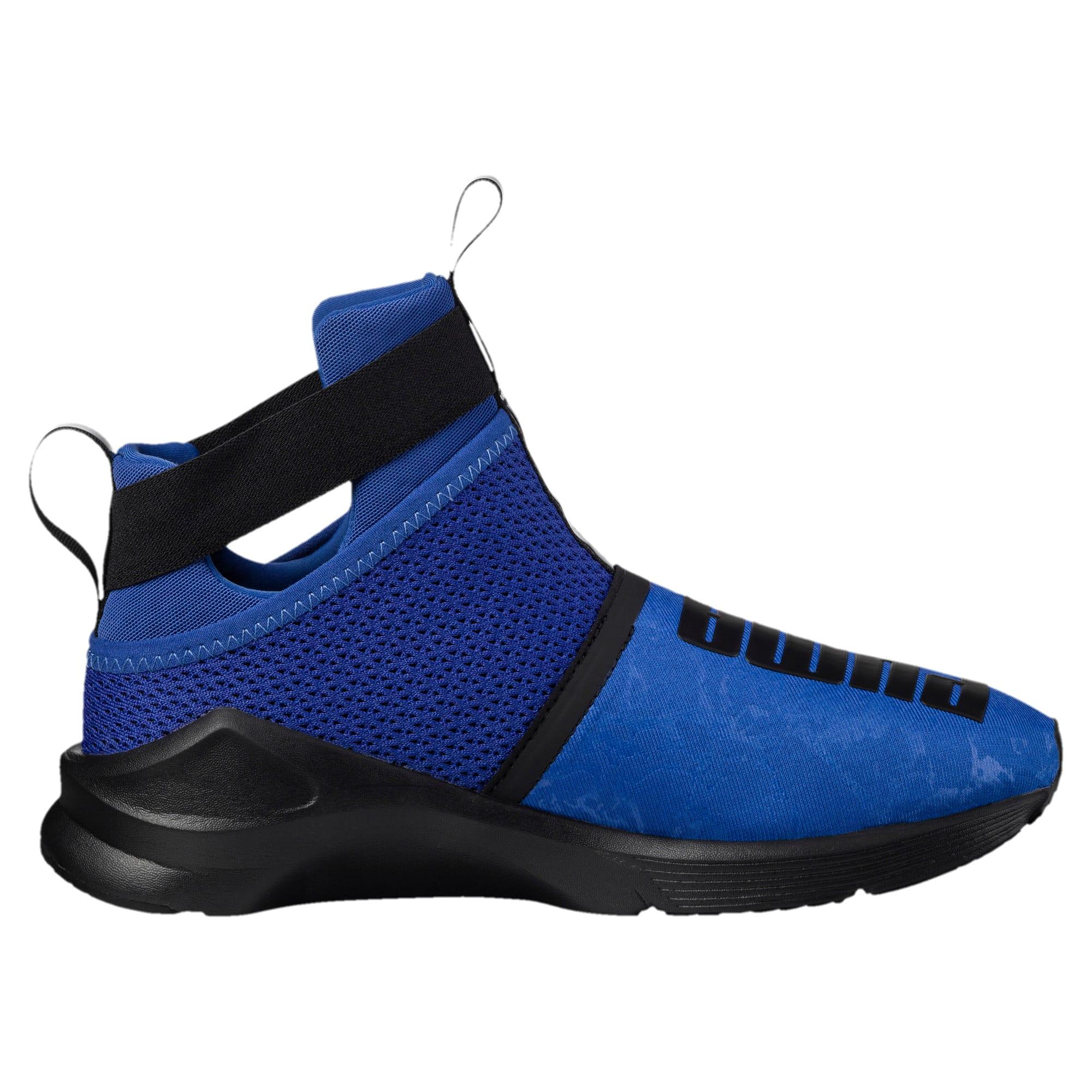 Thumbnail 4 of PUMA Fierce Strap Training Shoes, TRUE BLUE-Puma Black, medium-IND