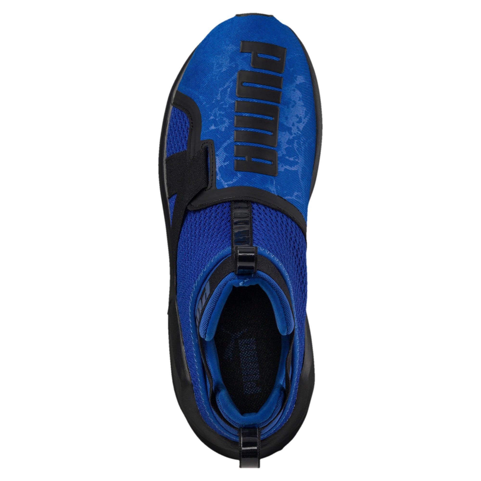 Thumbnail 5 of PUMA Fierce Strap Training Shoes, TRUE BLUE-Puma Black, medium-IND