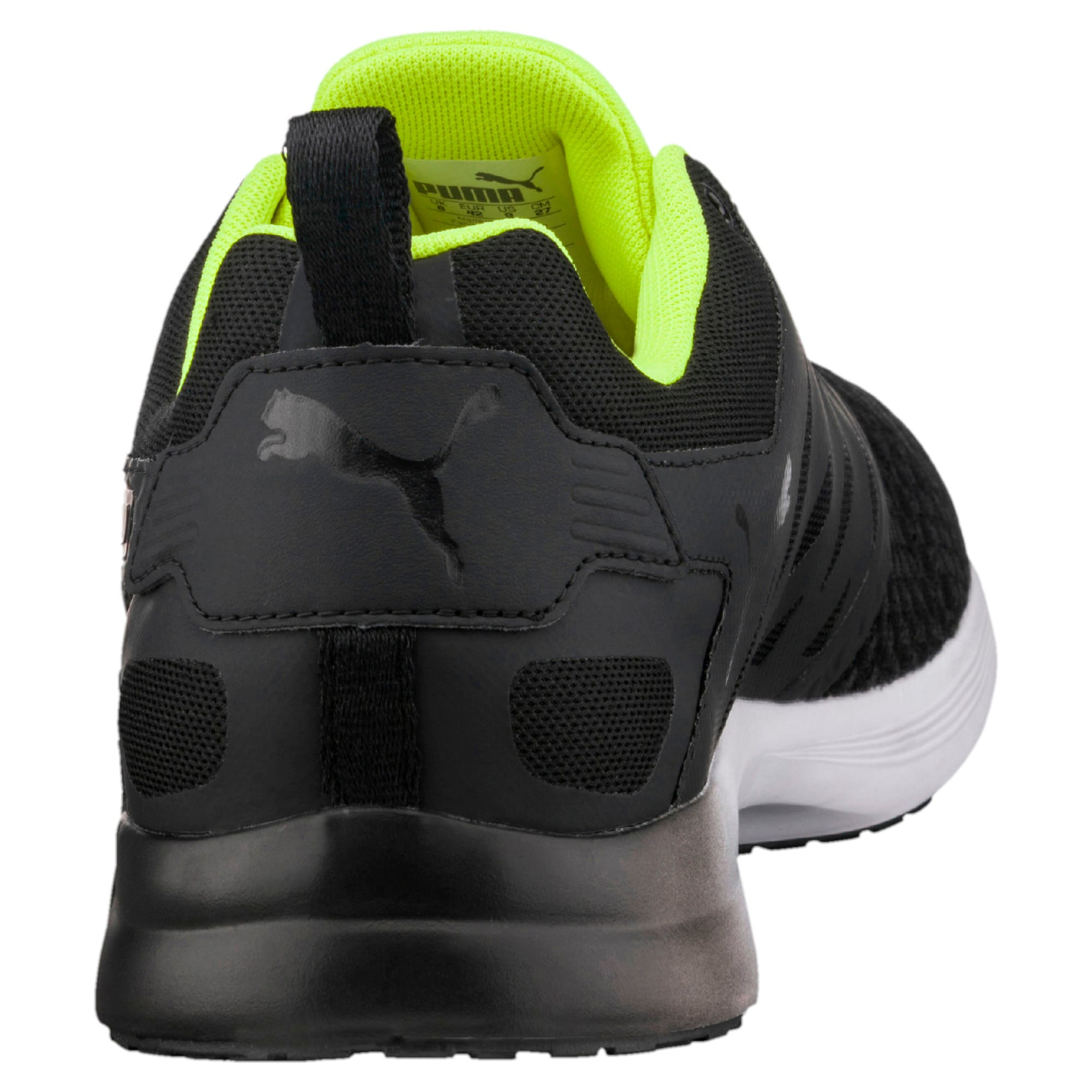 Thumbnail 3 of Pulse XT v2 Mesh Men's Training Shoes, Puma Black-Safety Yellow, medium-IND
