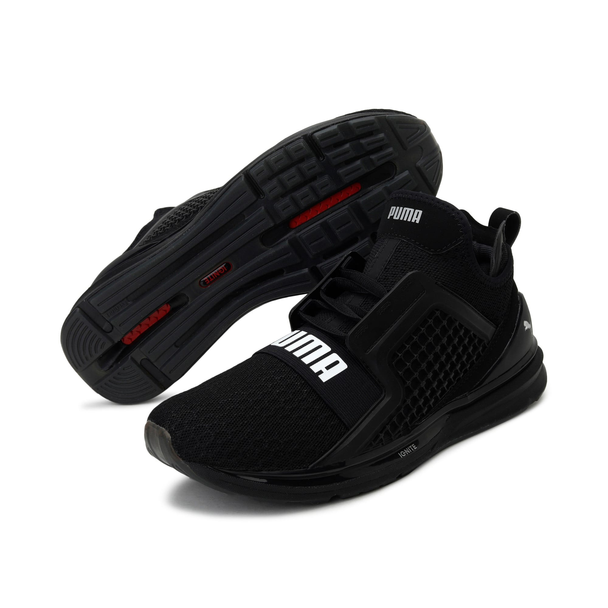 Thumbnail 3 of IGNITE Limitless Men's Running Shoes, Puma Black, medium-IND