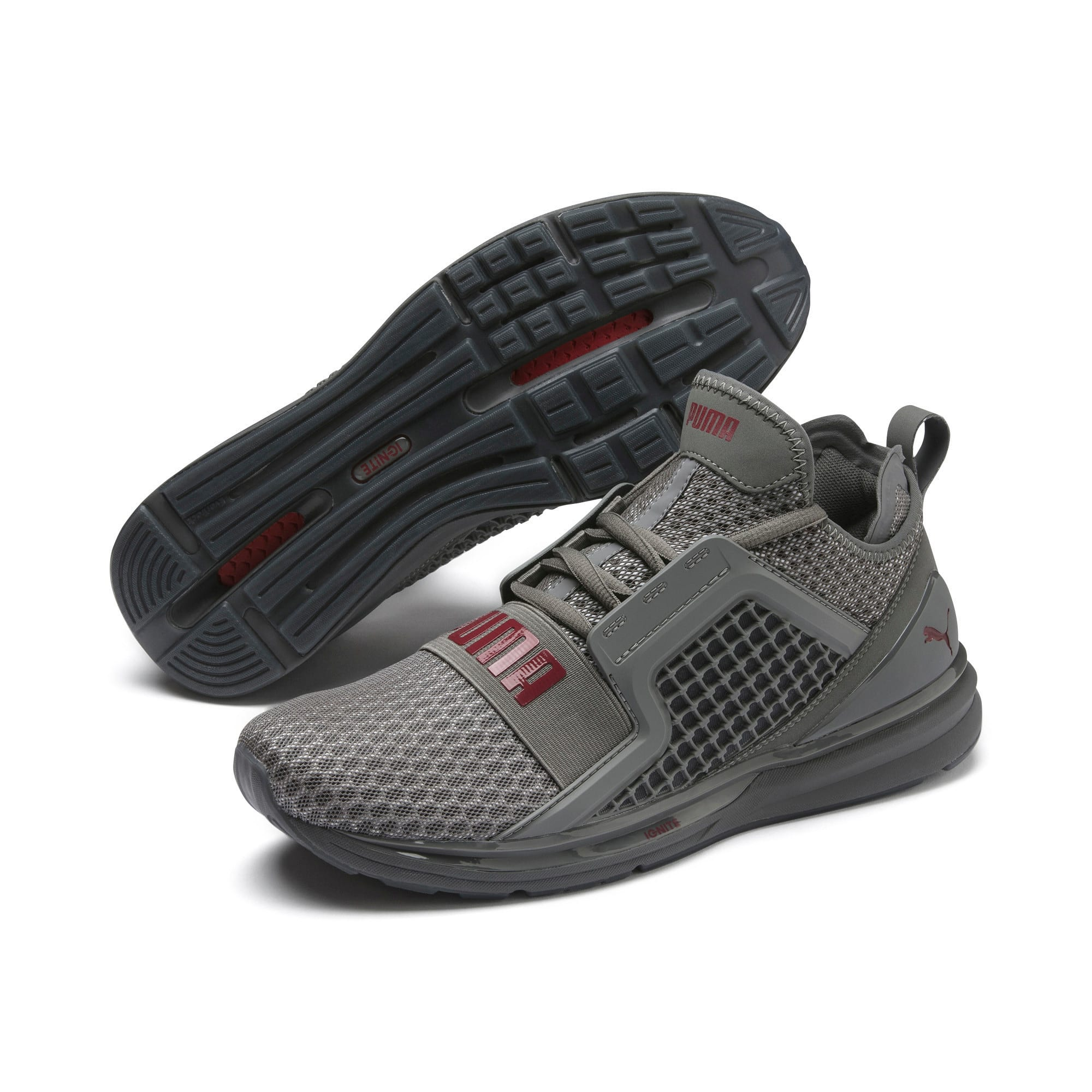 Thumbnail 8 of IGNITE Limitless Men's Running Shoes, CASTLEROCK-Rhubarb, medium-IND