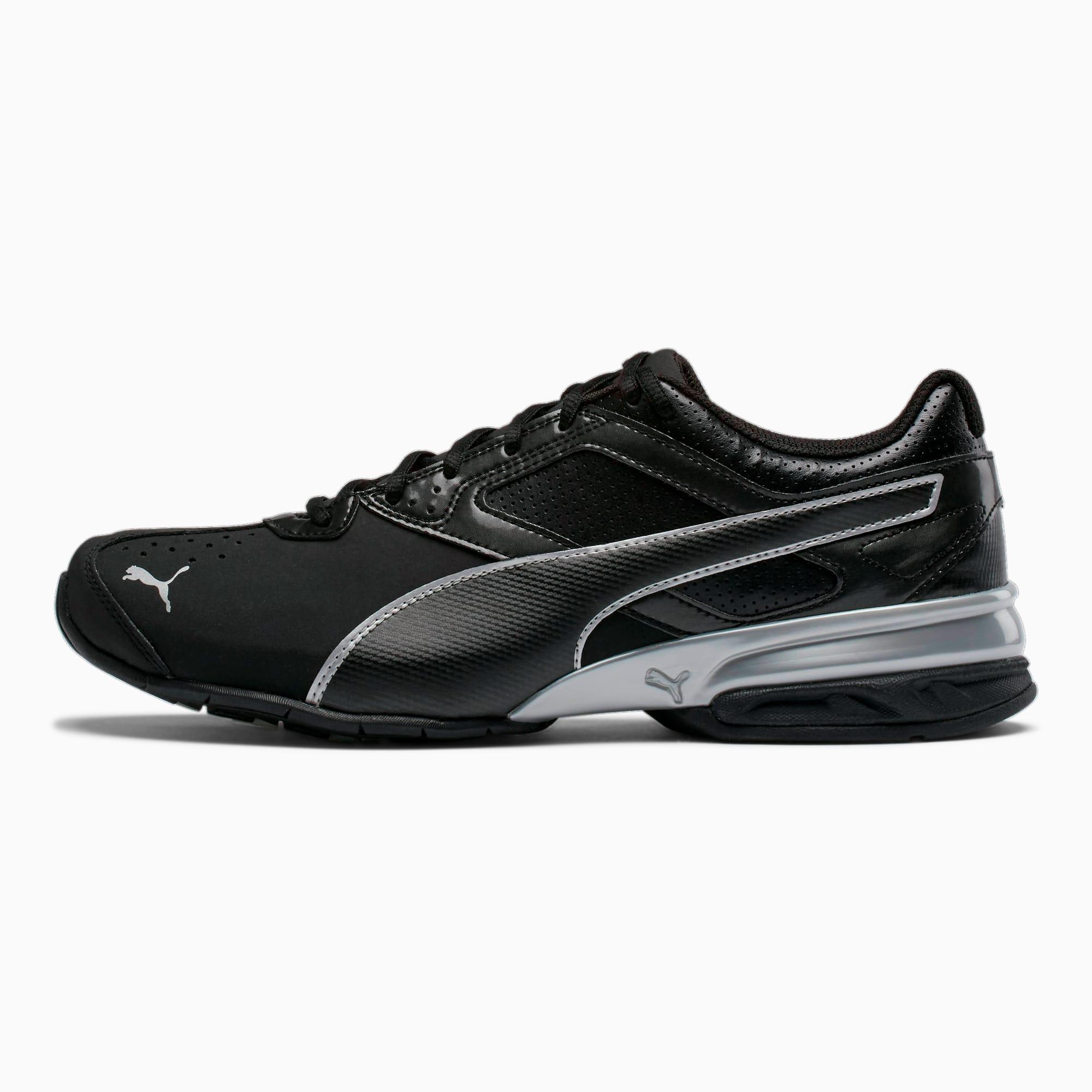 Puma Tazon 6 FM Black Silver Zapatillas de Running para Hombre