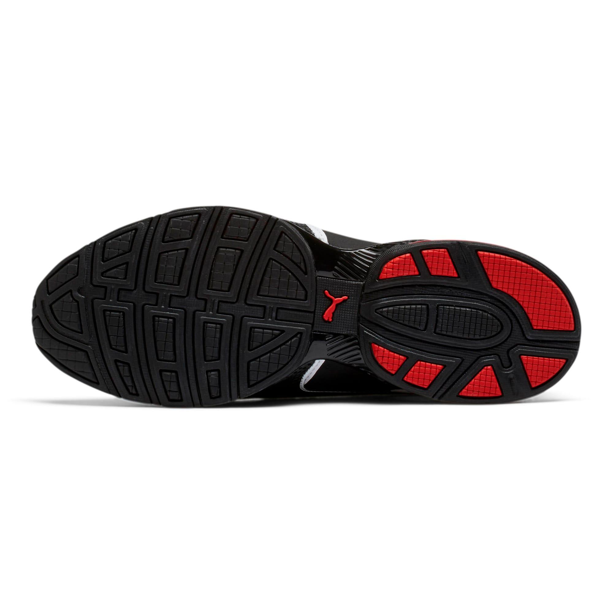 Thumbnail 4 of CELL Surin 2 FM Men's Running Shoes, White-Black-flame scarlet, medium