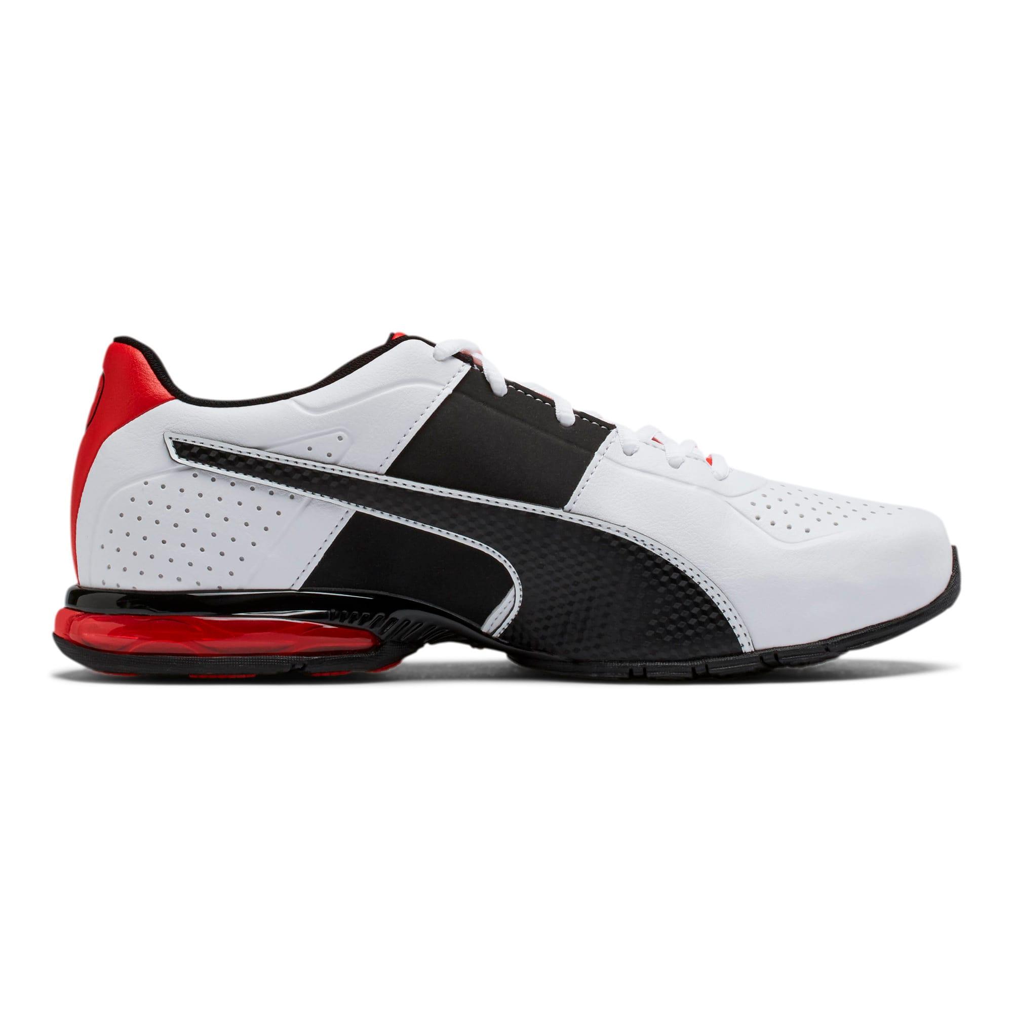 Thumbnail 5 of CELL Surin 2 FM Men's Running Shoes, White-Black-flame scarlet, medium