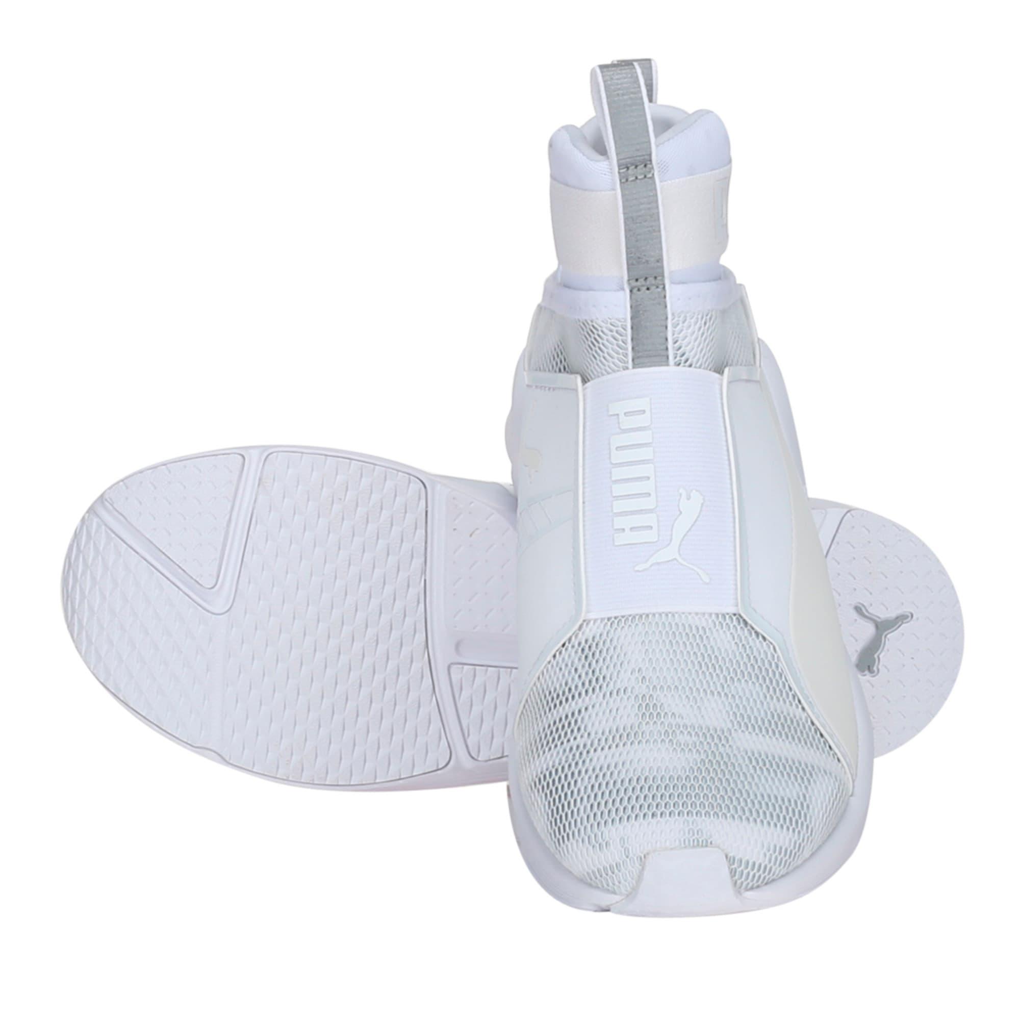 Thumbnail 2 of PUMA Fierce Swan Training Shoes, Puma White-Puma White, medium-IND