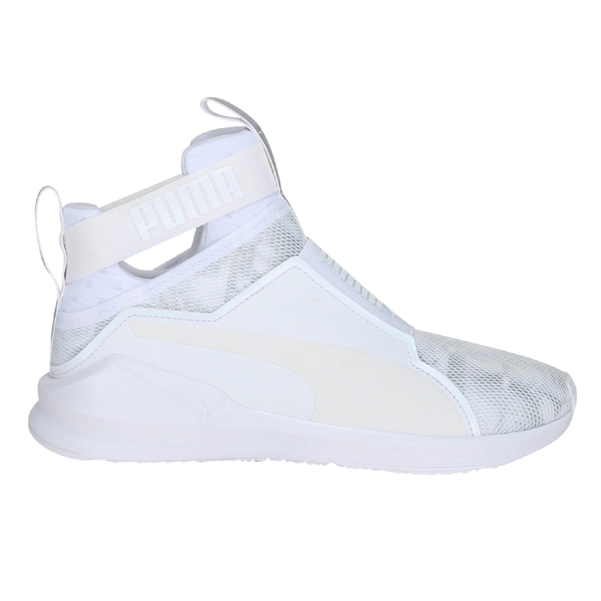 Thumbnail 1 of PUMA Fierce Swan Training Shoes, Puma White-Puma White, medium-IND