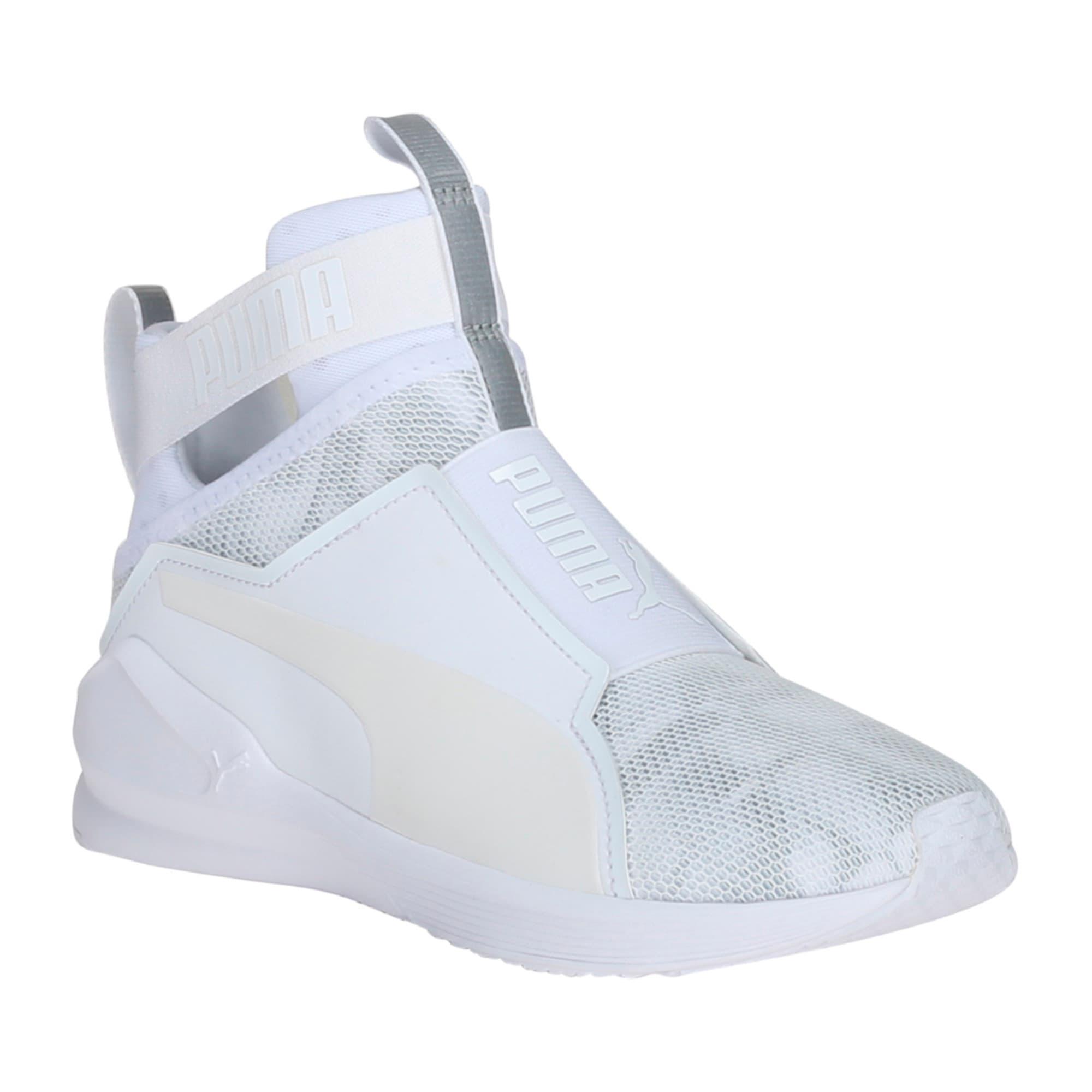 Thumbnail 4 of PUMA Fierce Swan Training Shoes, Puma White-Puma White, medium-IND