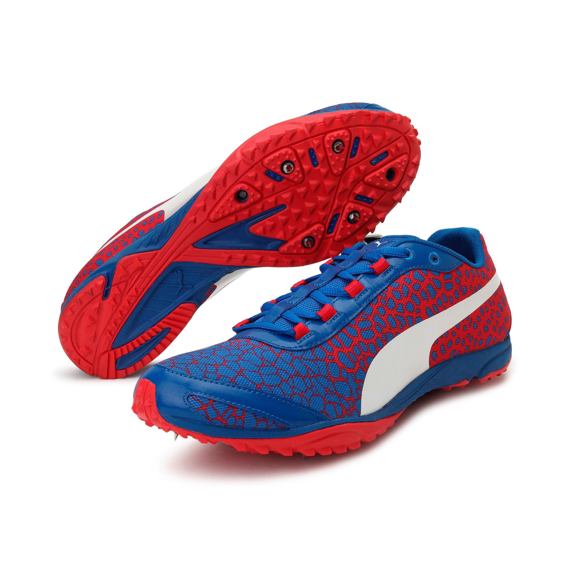 Thumbnail 2 of evoSPEED Haraka 4 Men's Cross Country Running Shoes, Lapis Blue-Toreador, medium-IND