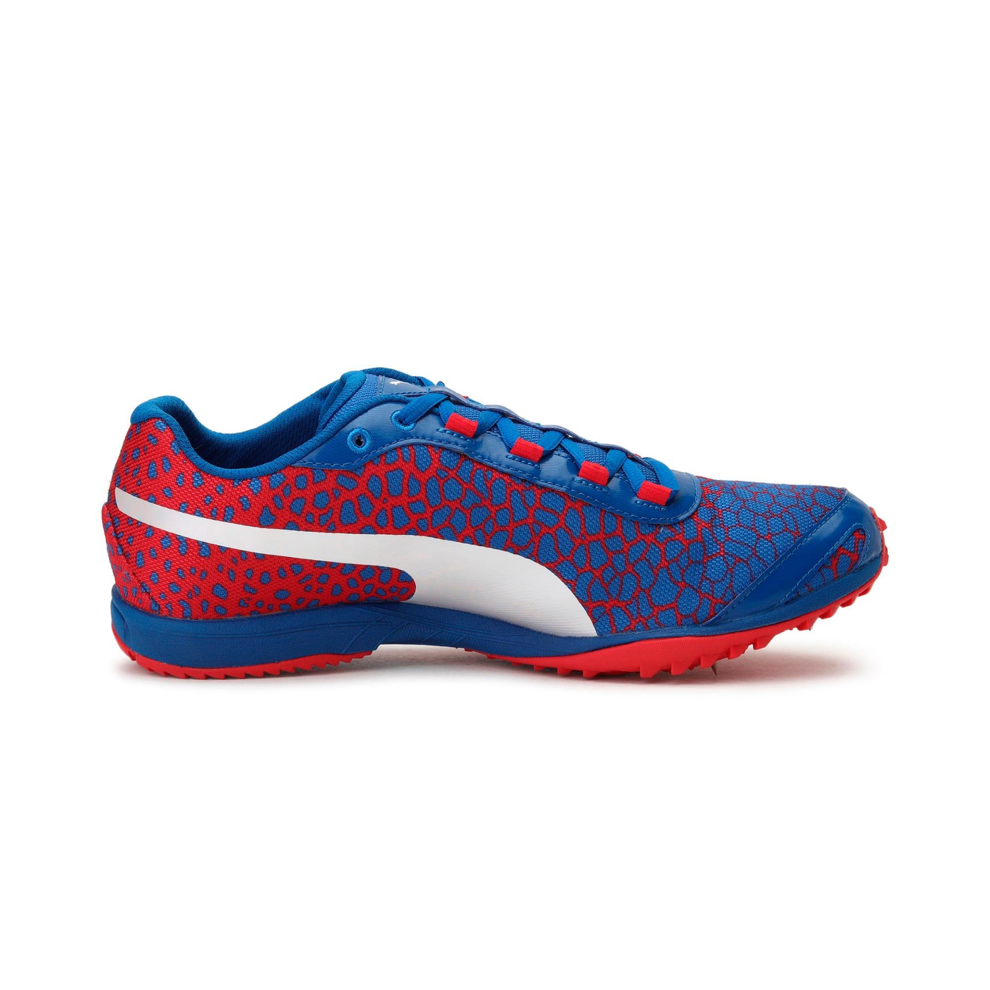 Thumbnail 4 of evoSPEED Haraka 4 Men's Cross Country Running Shoes, Lapis Blue-Toreador, medium-IND