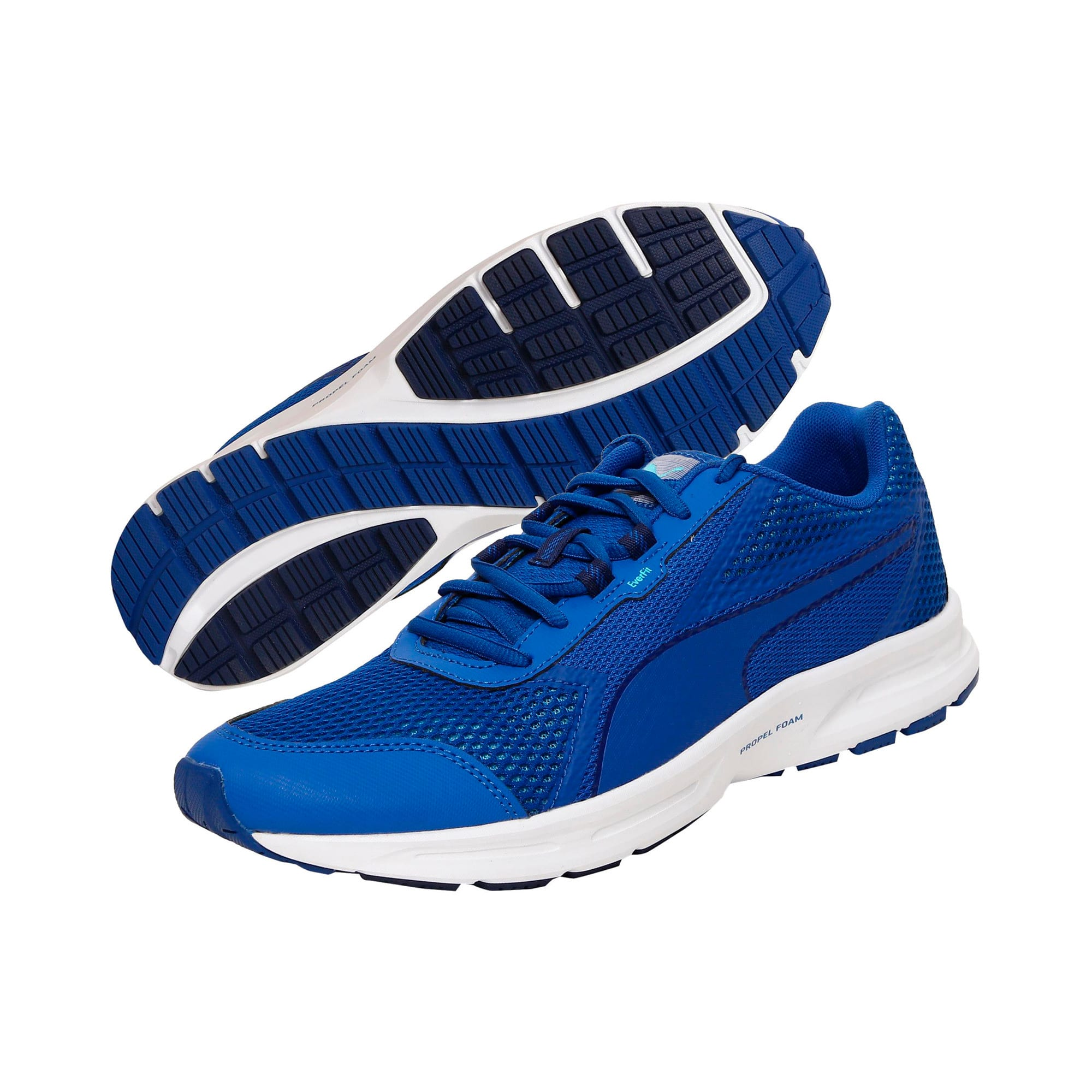 Thumbnail 2 of Essential Runner Men's Running Shoes, Lapis Blue-Blue Depths-Turq, medium-IND