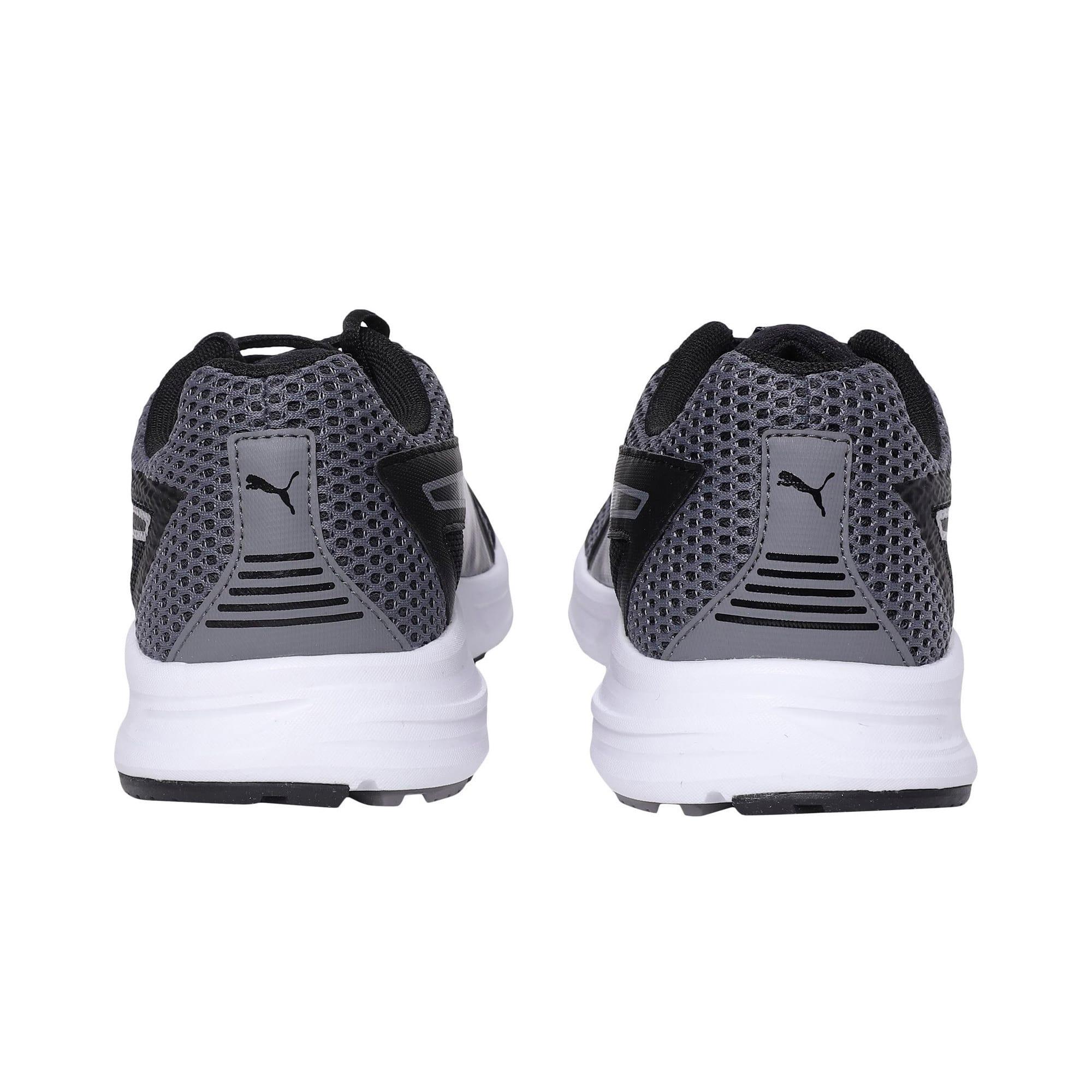Thumbnail 3 of Essential Runner Men's Running Shoes, QUIET SHADE-Black-Silver, medium-IND
