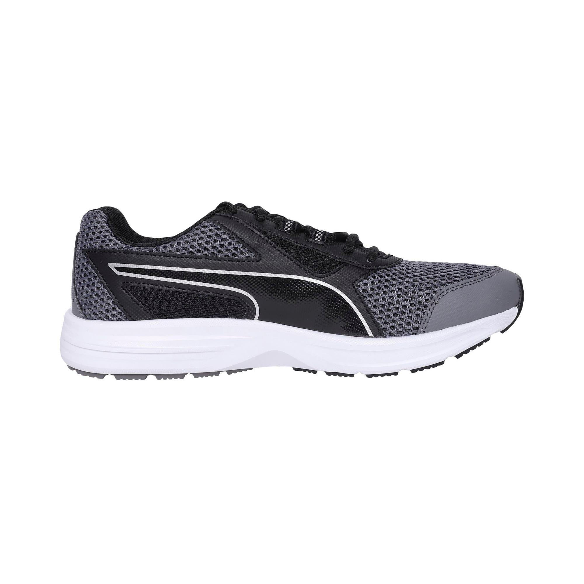 Thumbnail 5 of Essential Runner Men's Running Shoes, QUIET SHADE-Black-Silver, medium-IND