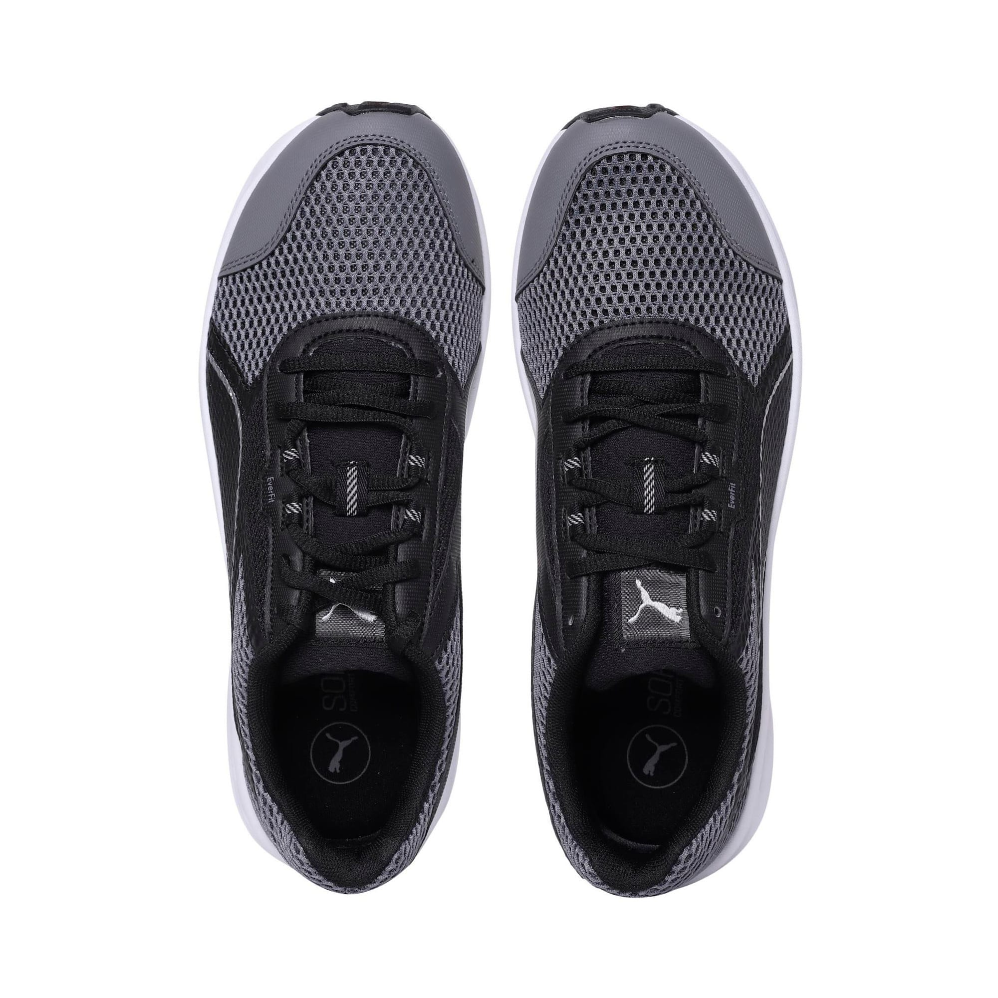 Thumbnail 6 of Essential Runner Men's Running Shoes, QUIET SHADE-Black-Silver, medium-IND