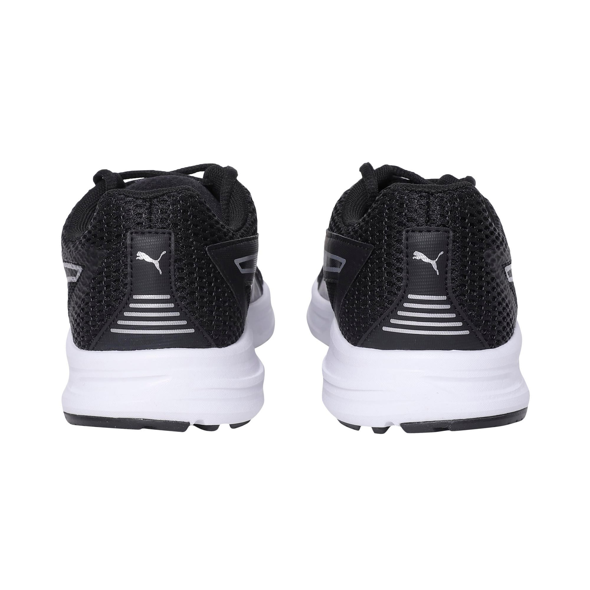 Thumbnail 3 of Essential Runner Men's Running Shoes, Puma Black-Puma Silver, medium-IND