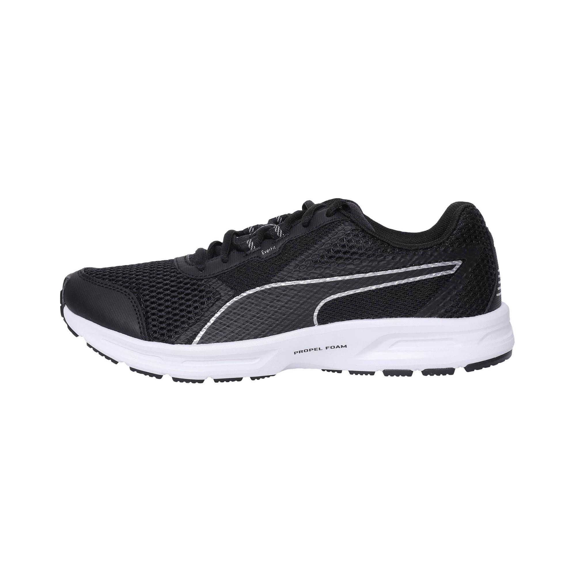 Thumbnail 1 of Essential Runner Men's Running Shoes, Puma Black-Puma Silver, medium-IND