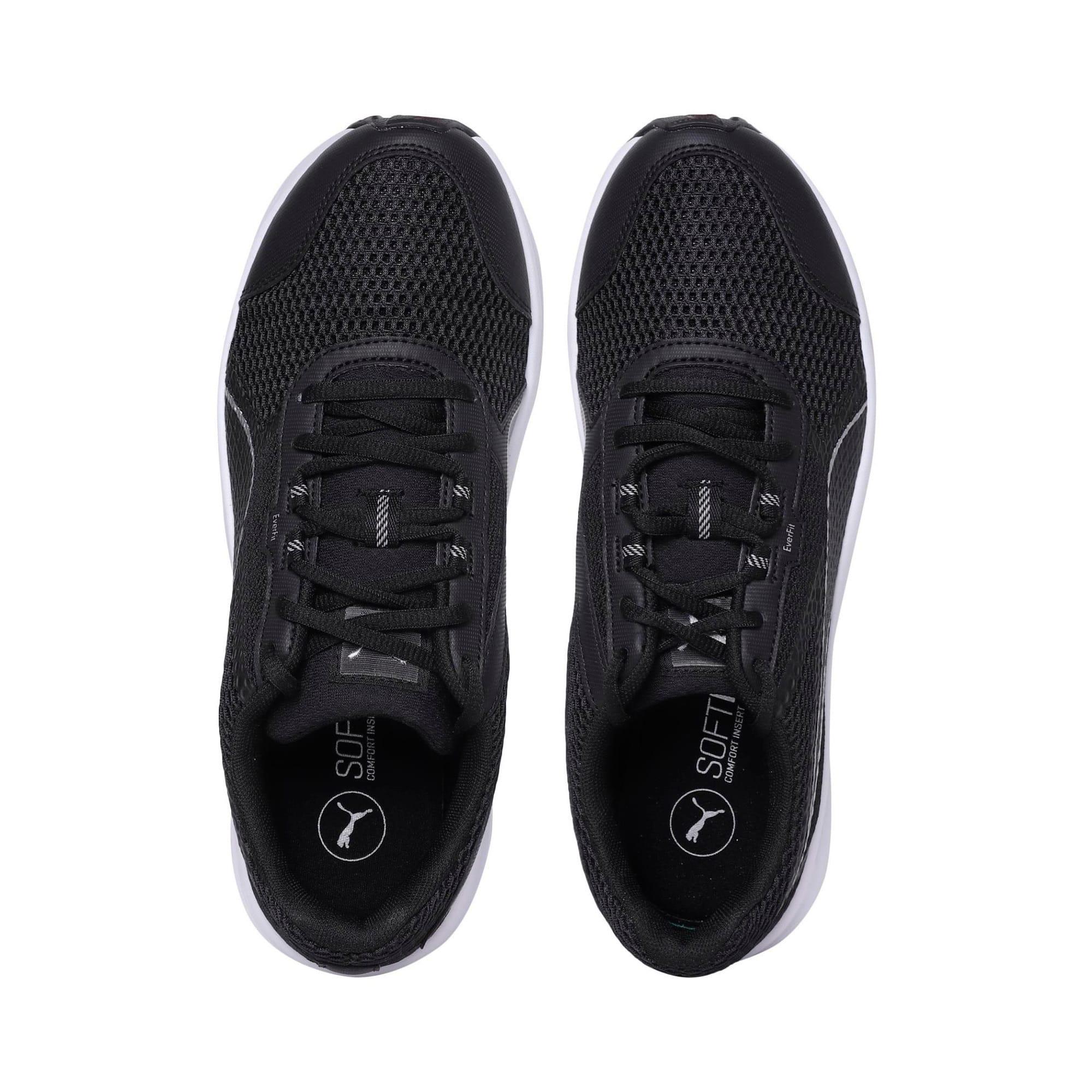 Thumbnail 6 of Essential Runner Men's Running Shoes, Puma Black-Puma Silver, medium-IND