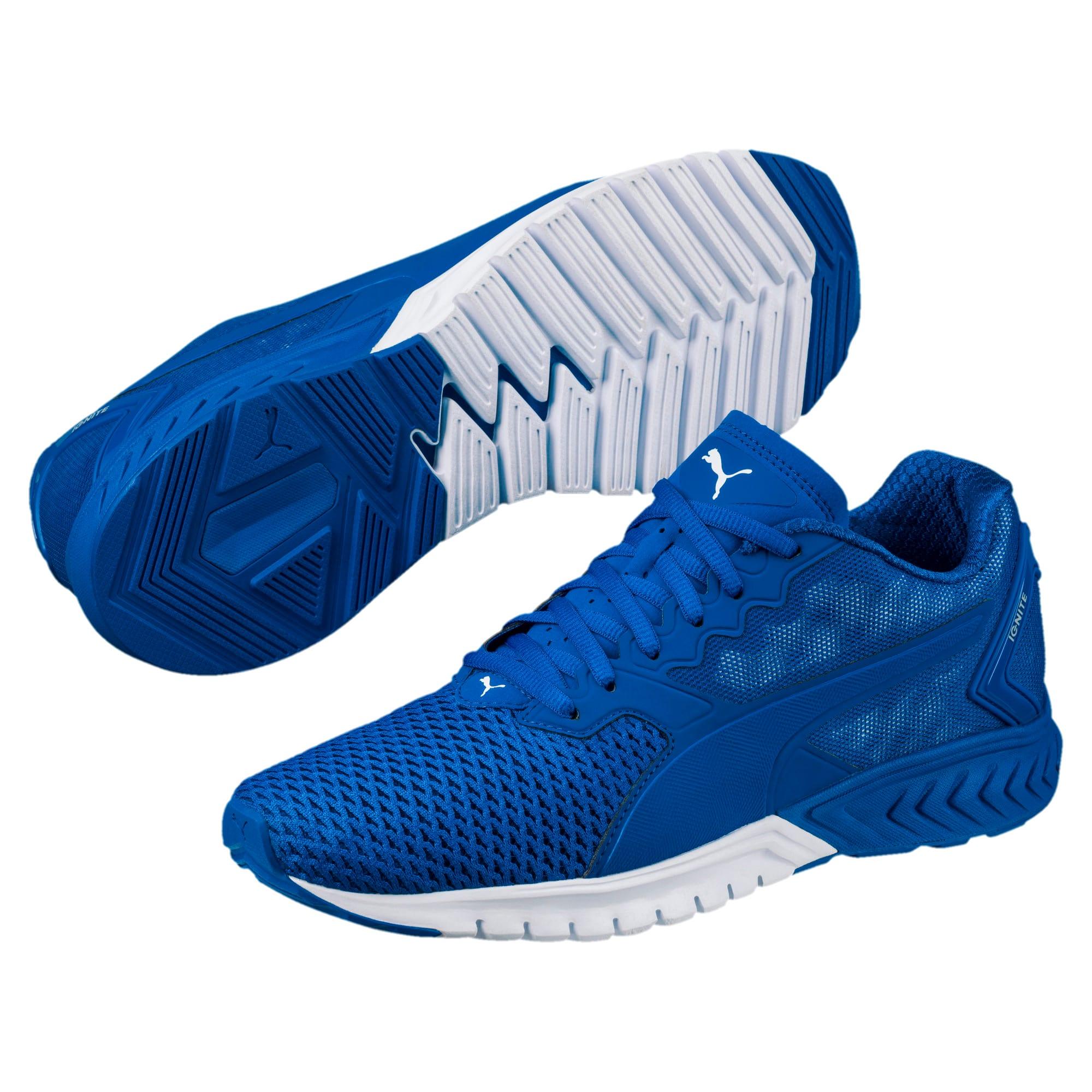Thumbnail 2 of IGNITE Dual Mesh Men's Running Shoes, Lapis Blue-Quarry, medium-IND