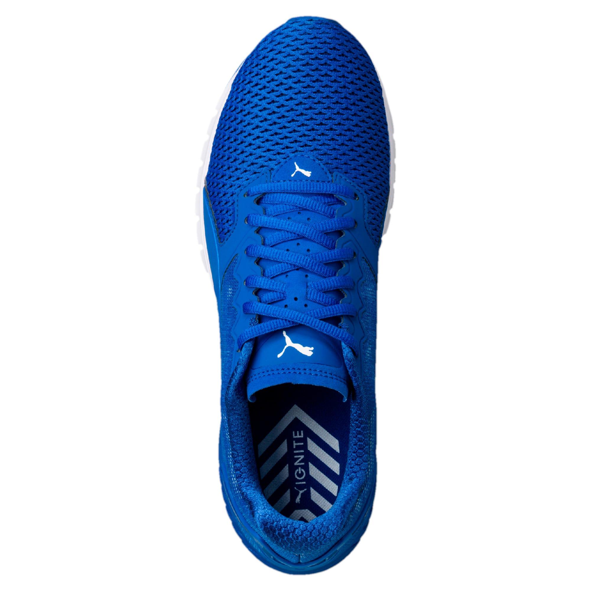 Thumbnail 3 of IGNITE Dual Mesh Men's Running Shoes, Lapis Blue-Quarry, medium-IND