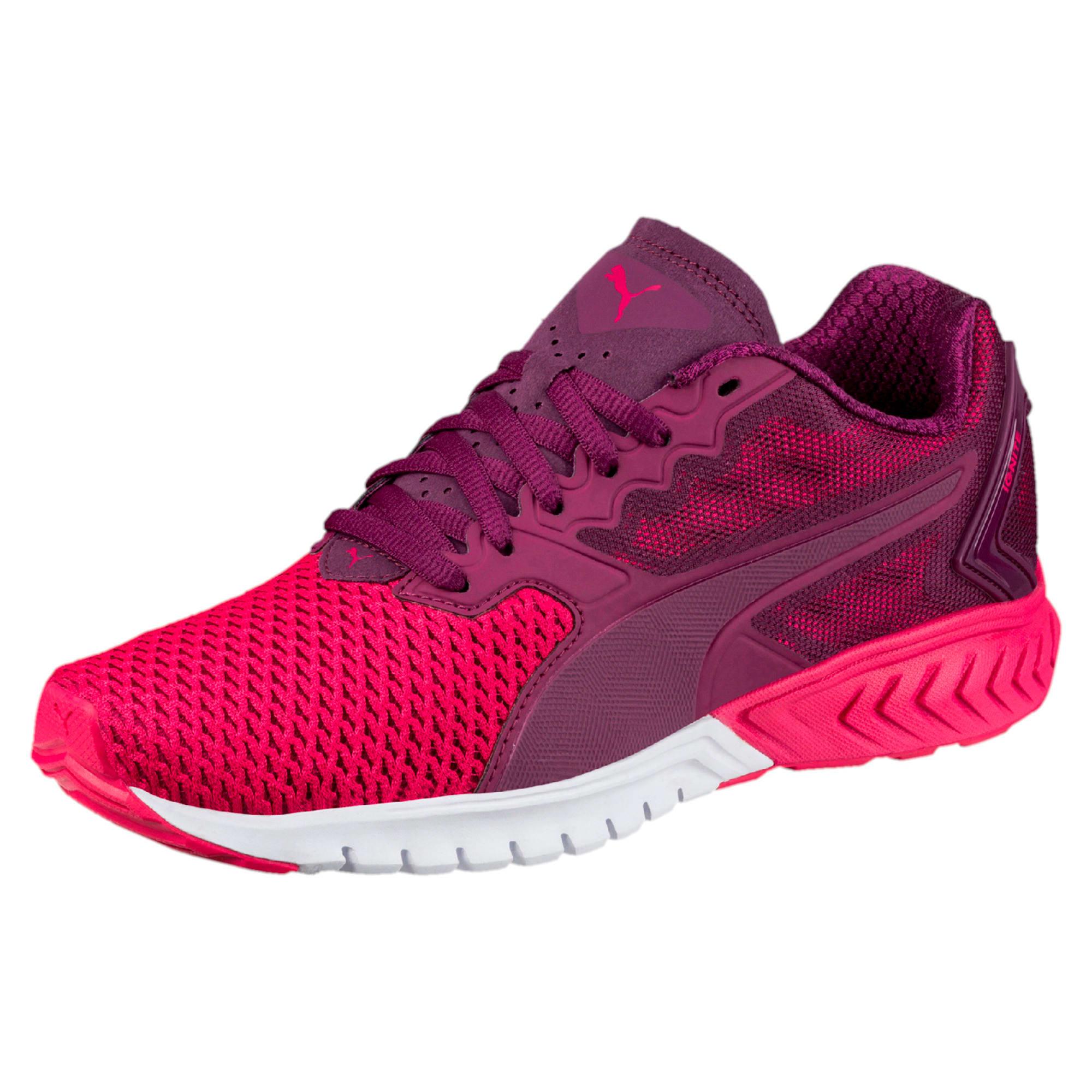 Thumbnail 1 of IGNITE Dual Mesh Women's Running Shoes, Dark Purple-Love Potion, medium-IND