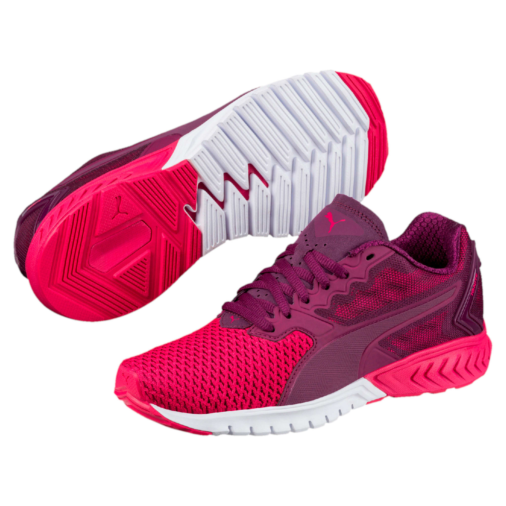 Thumbnail 6 of IGNITE Dual Mesh Women's Running Shoes, Dark Purple-Love Potion, medium-IND