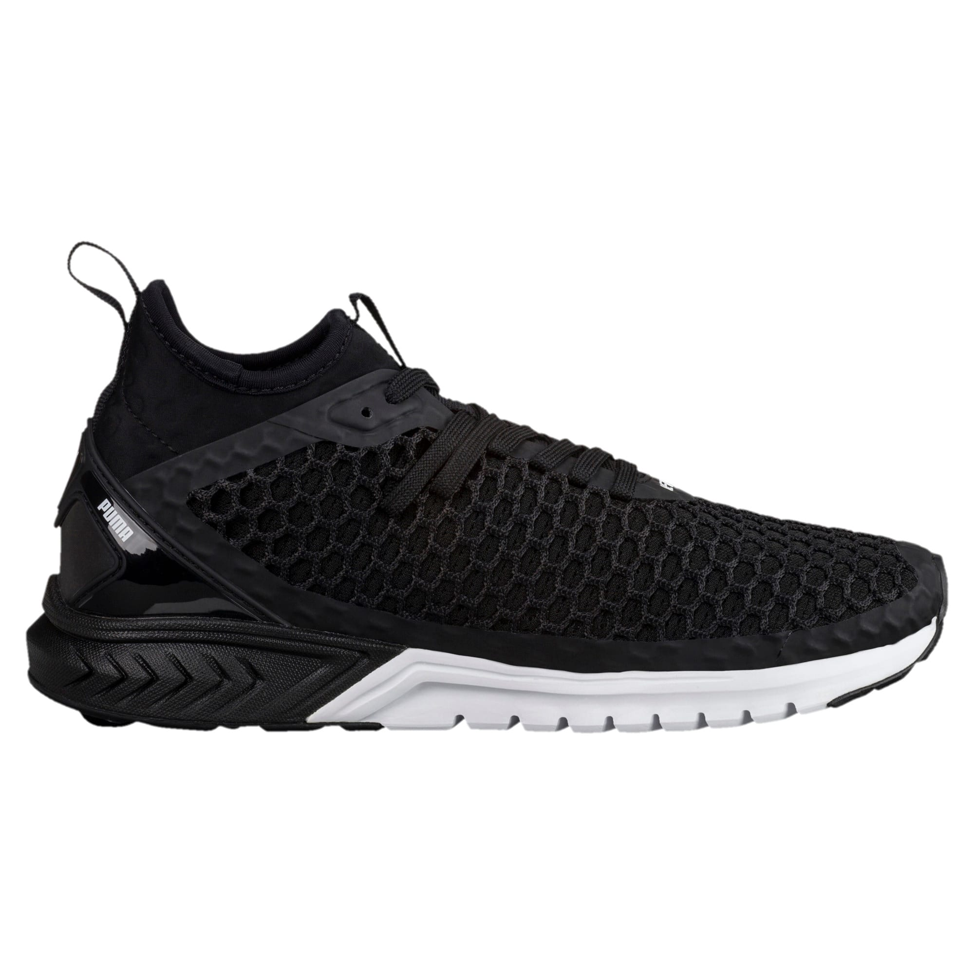 Thumbnail 3 of IGNITE Dual NETFIT Women's Running Shoes, Puma Black-Puma White, medium-IND