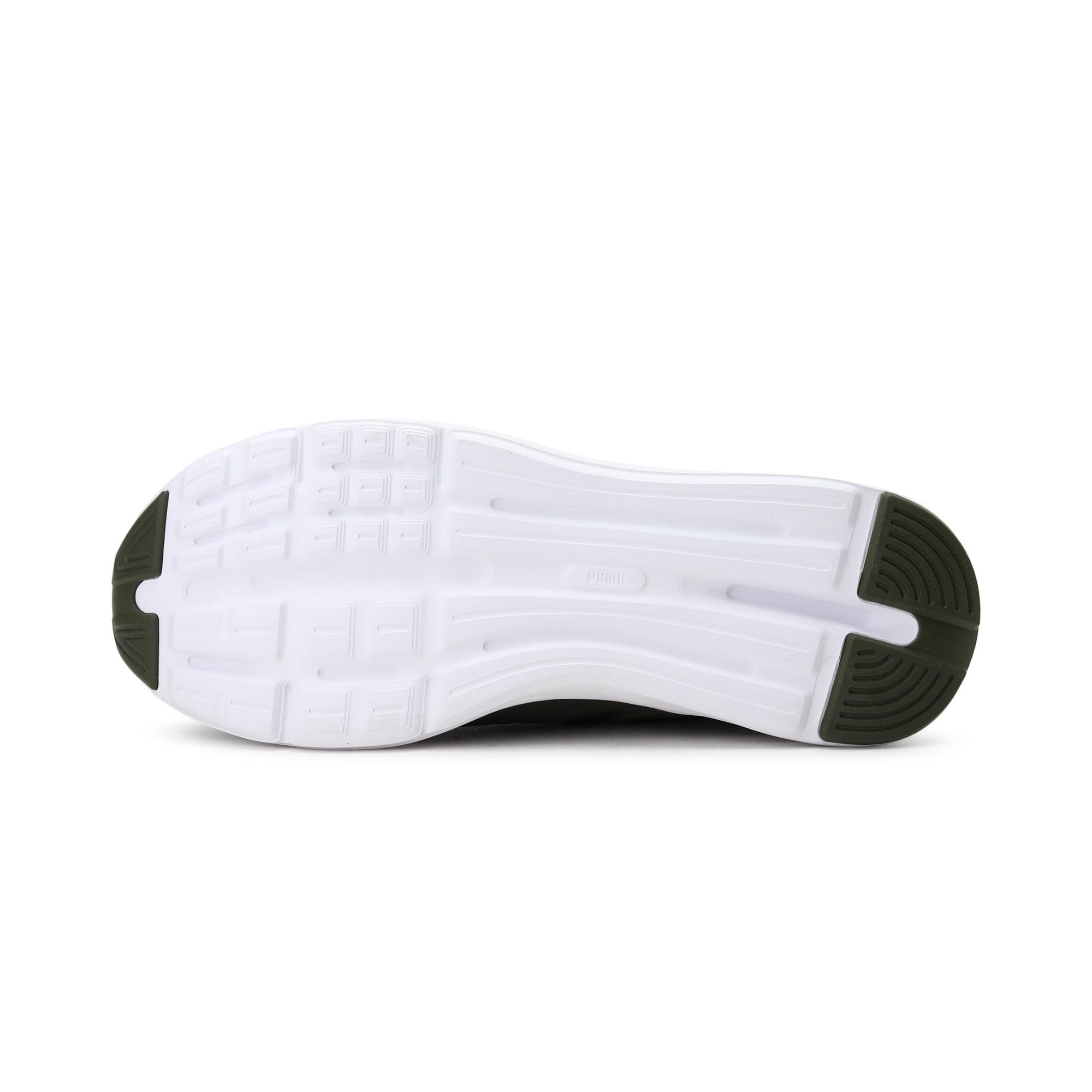 Thumbnail 4 of Enzo Mesh Men's Running Shoes, Olive Night-Puma White, medium-IND