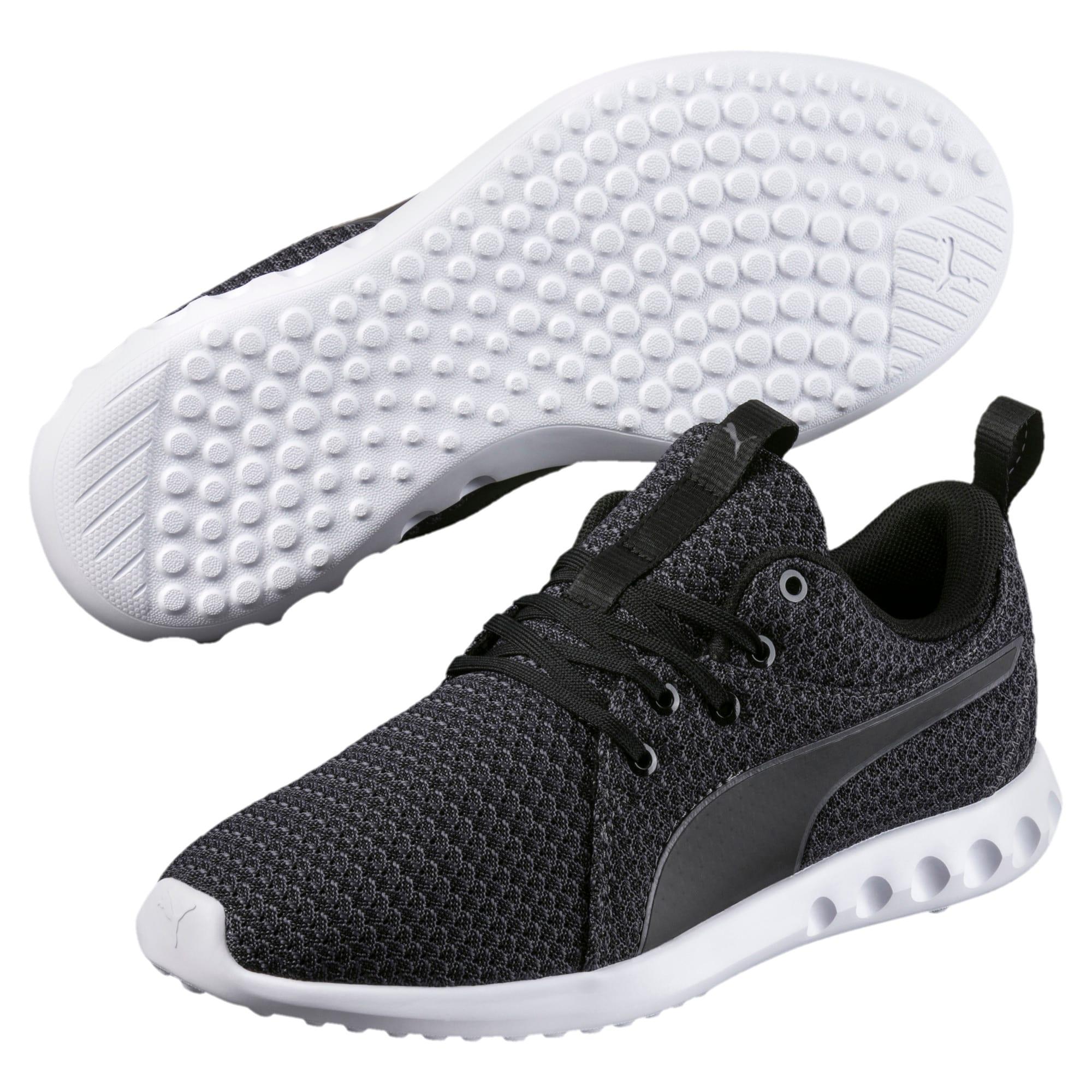 Thumbnail 2 of Carson 2 Knit Women's Running Shoes, Puma Black-Periscope, medium