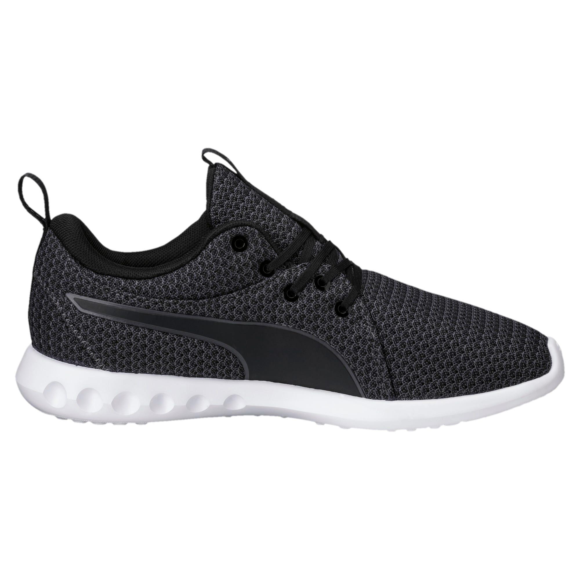 Thumbnail 3 of Carson 2 Knit Women's Running Shoes, Puma Black-Periscope, medium