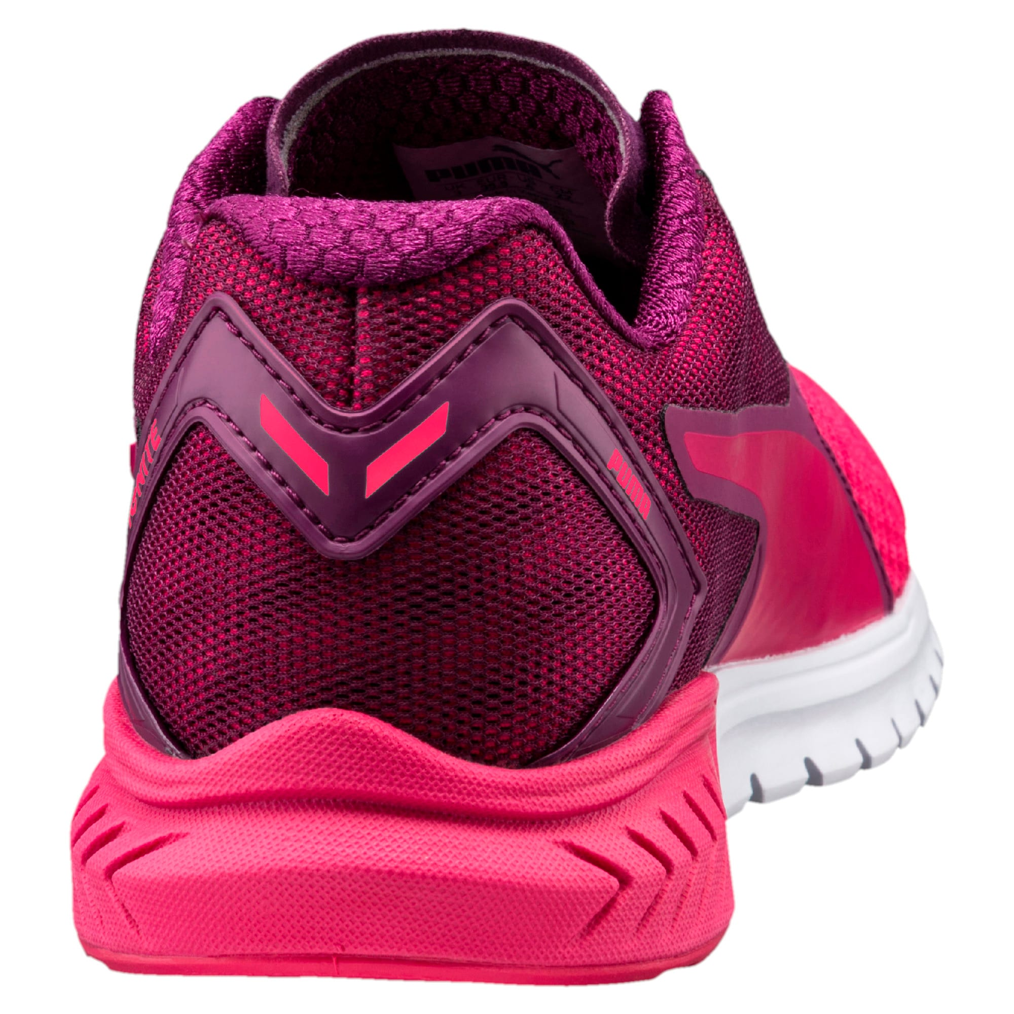 Thumbnail 3 of IGNITE Dual Mesh Kids' Running Shoes, Love Potion-Dark Purple, medium-IND