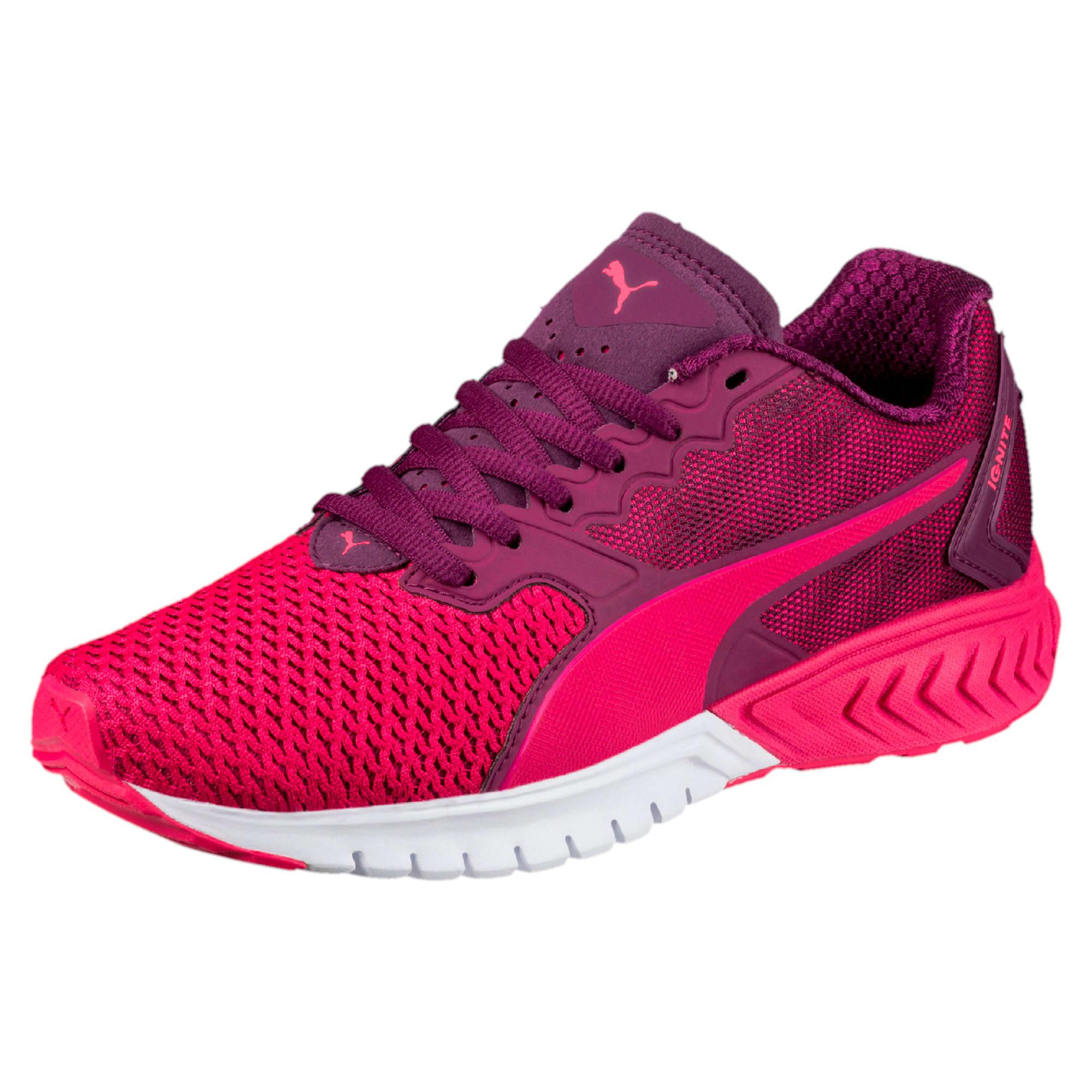 Thumbnail 1 of IGNITE Dual Mesh Kids' Running Shoes, Love Potion-Dark Purple, medium-IND