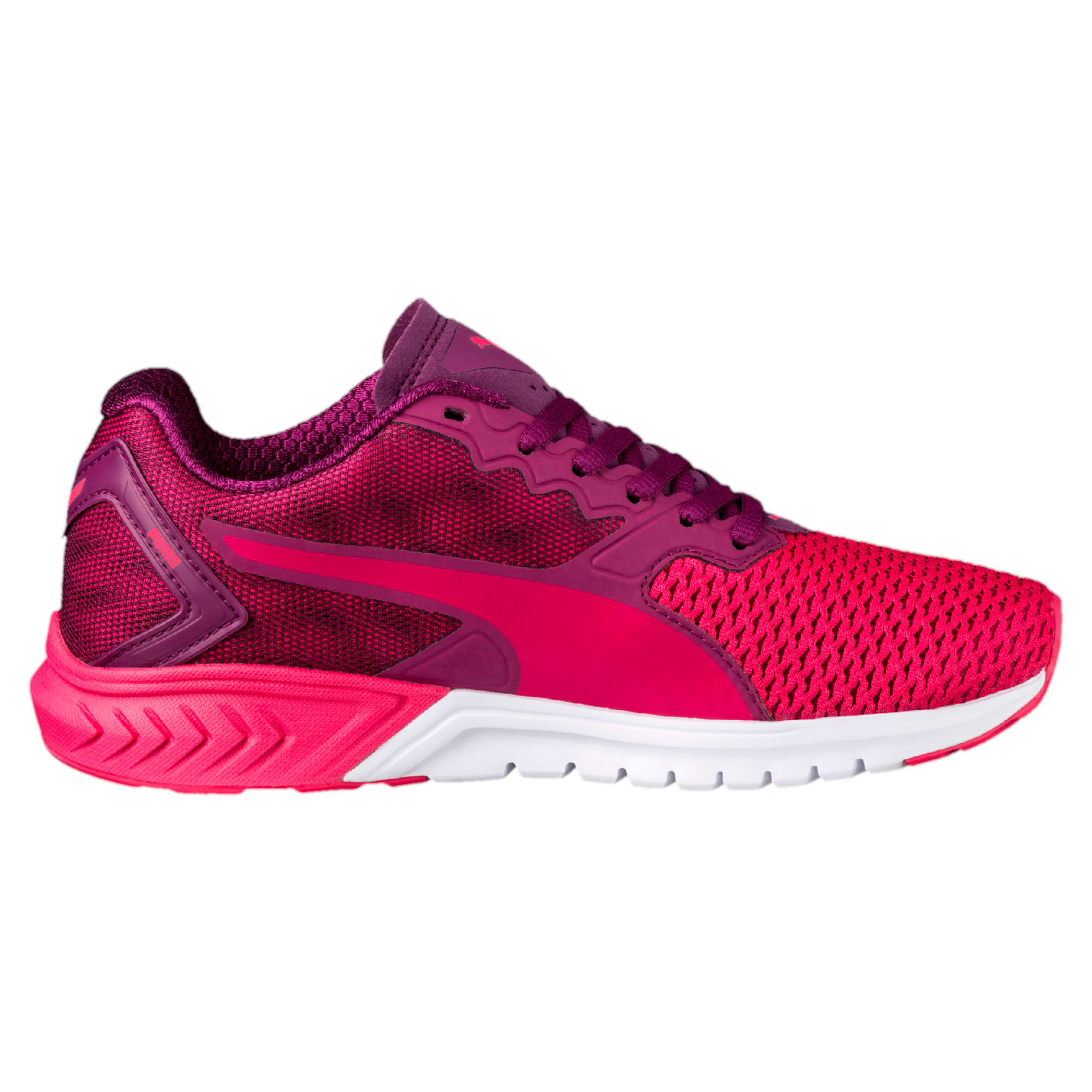 Thumbnail 5 of IGNITE Dual Mesh Kids' Running Shoes, Love Potion-Dark Purple, medium-IND