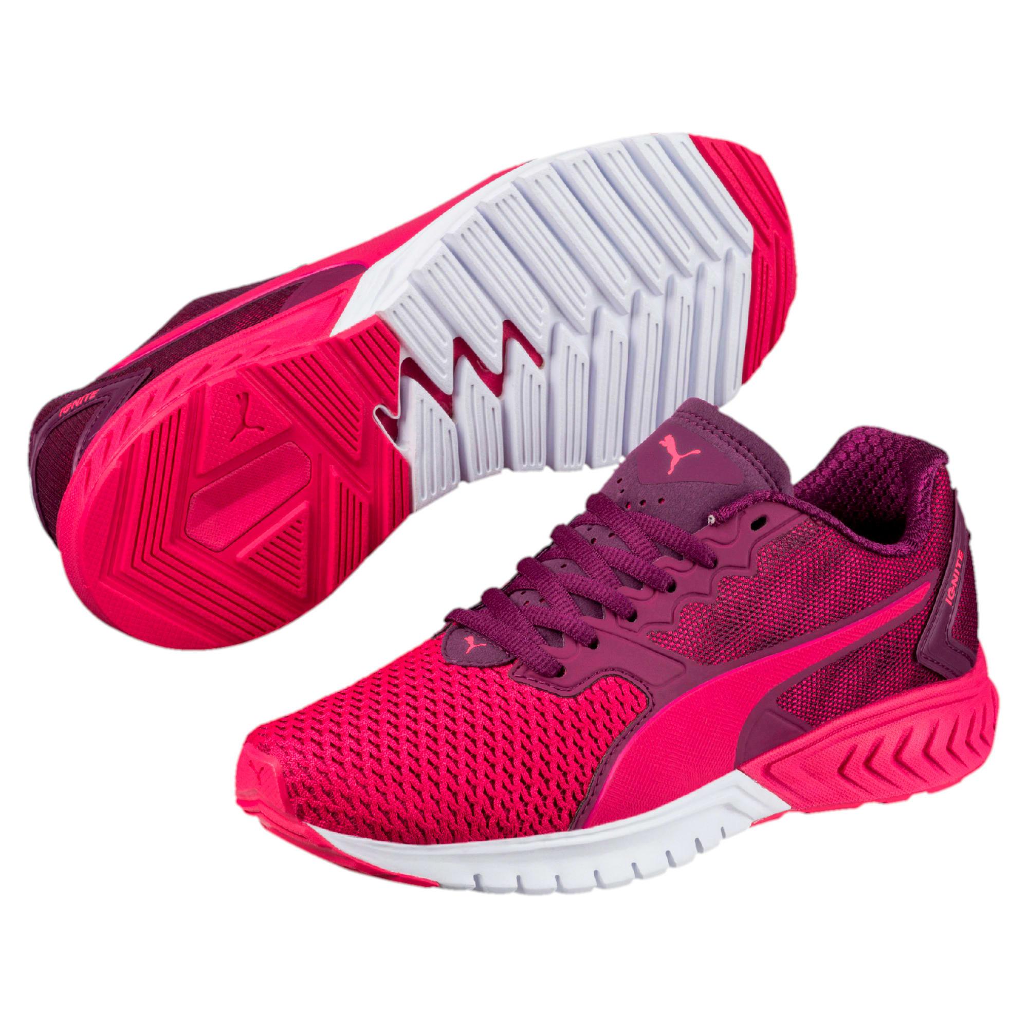 Thumbnail 6 of IGNITE Dual Mesh Kids' Running Shoes, Love Potion-Dark Purple, medium-IND
