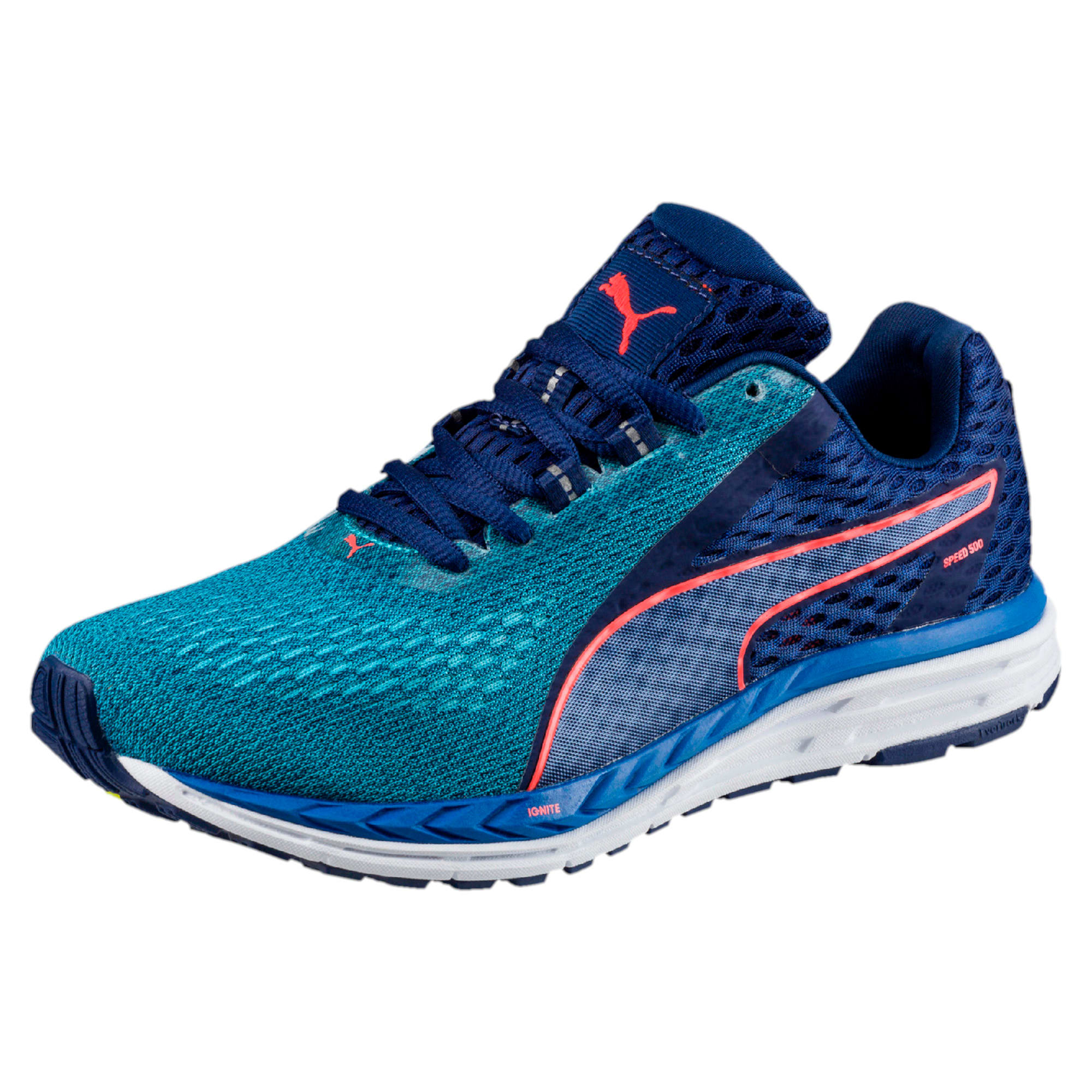 Thumbnail 1 of Speed 500 IGNITE 2 Kids' Running Shoes, Nrgy Turquoise-Blue Depths, medium-IND
