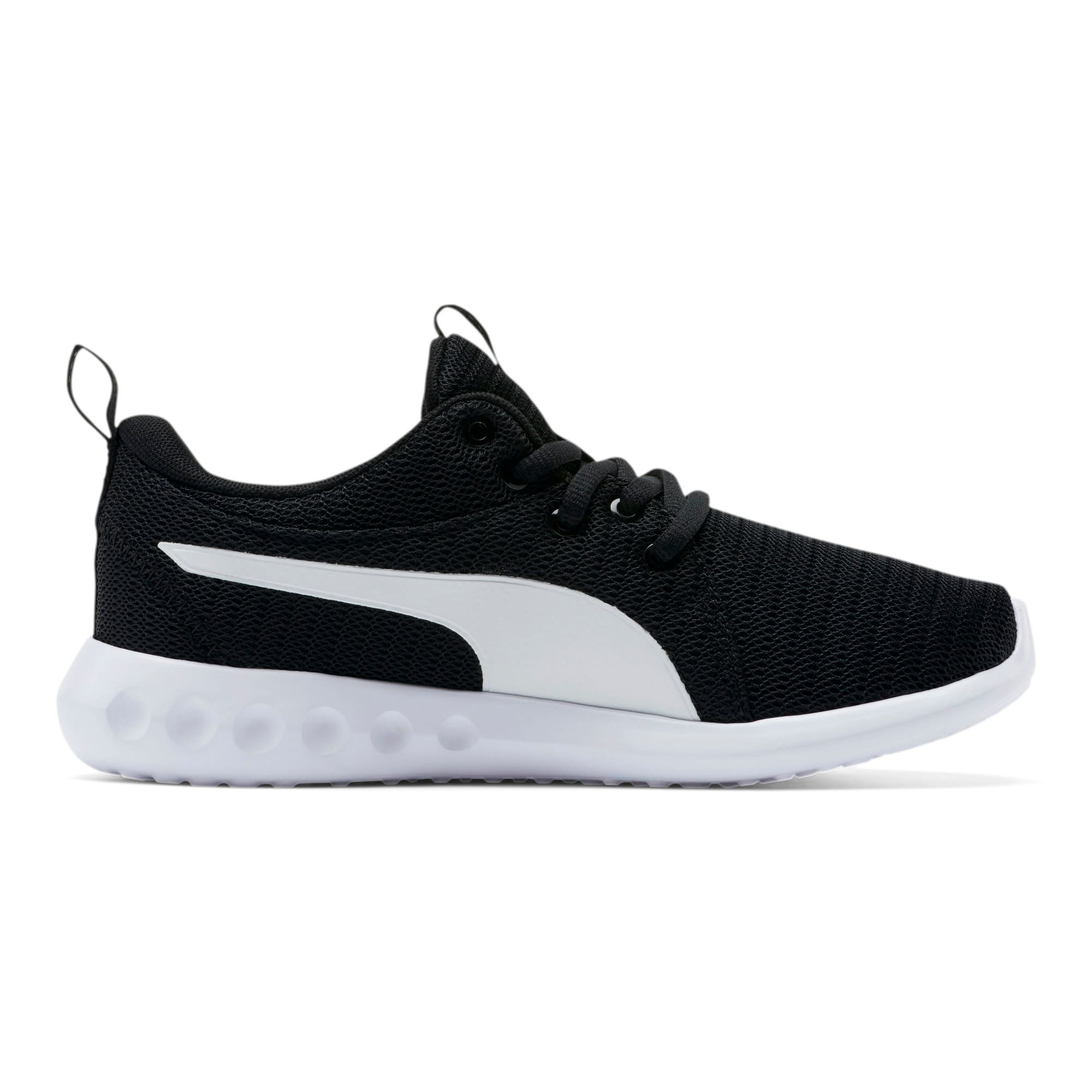 Thumbnail 5 of Carson 2 Sneakers JR, Puma Black-Puma White, medium