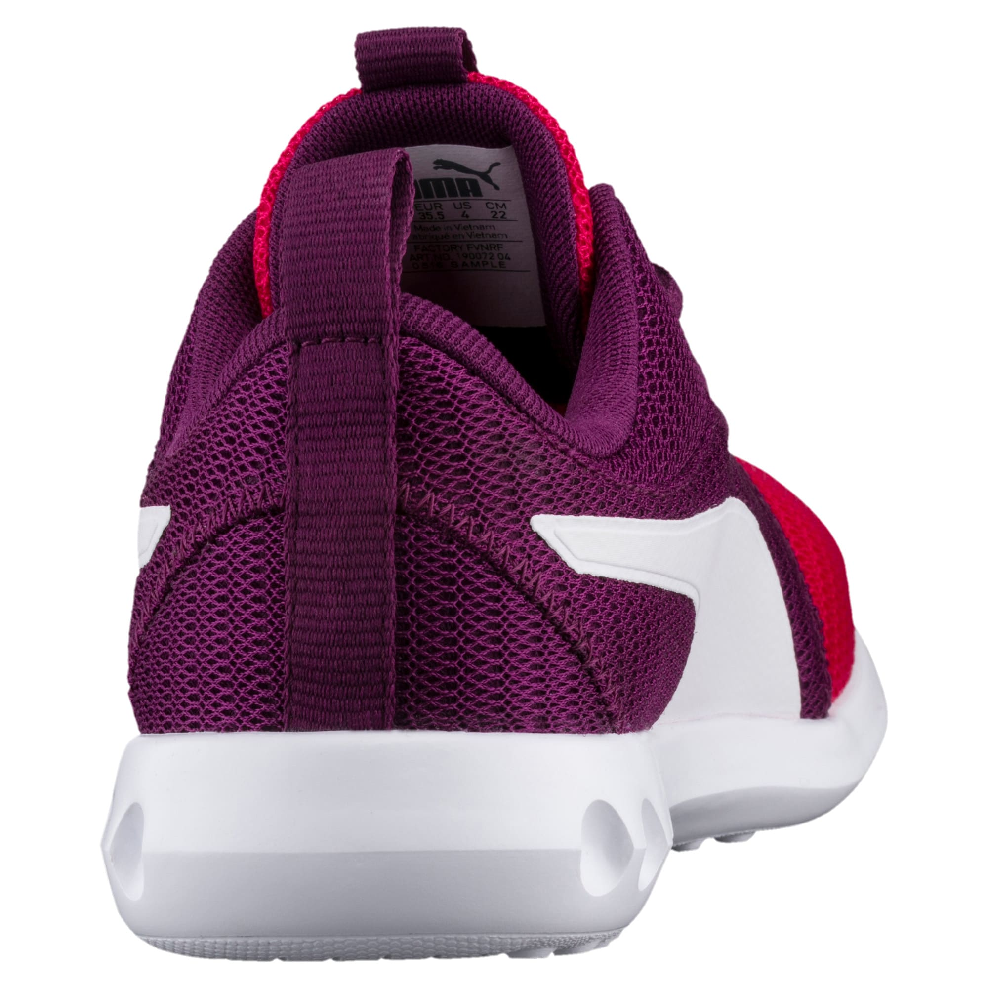 Thumbnail 4 of Carson 2 Youth Trainers, Love Potion-Puma White, medium-IND