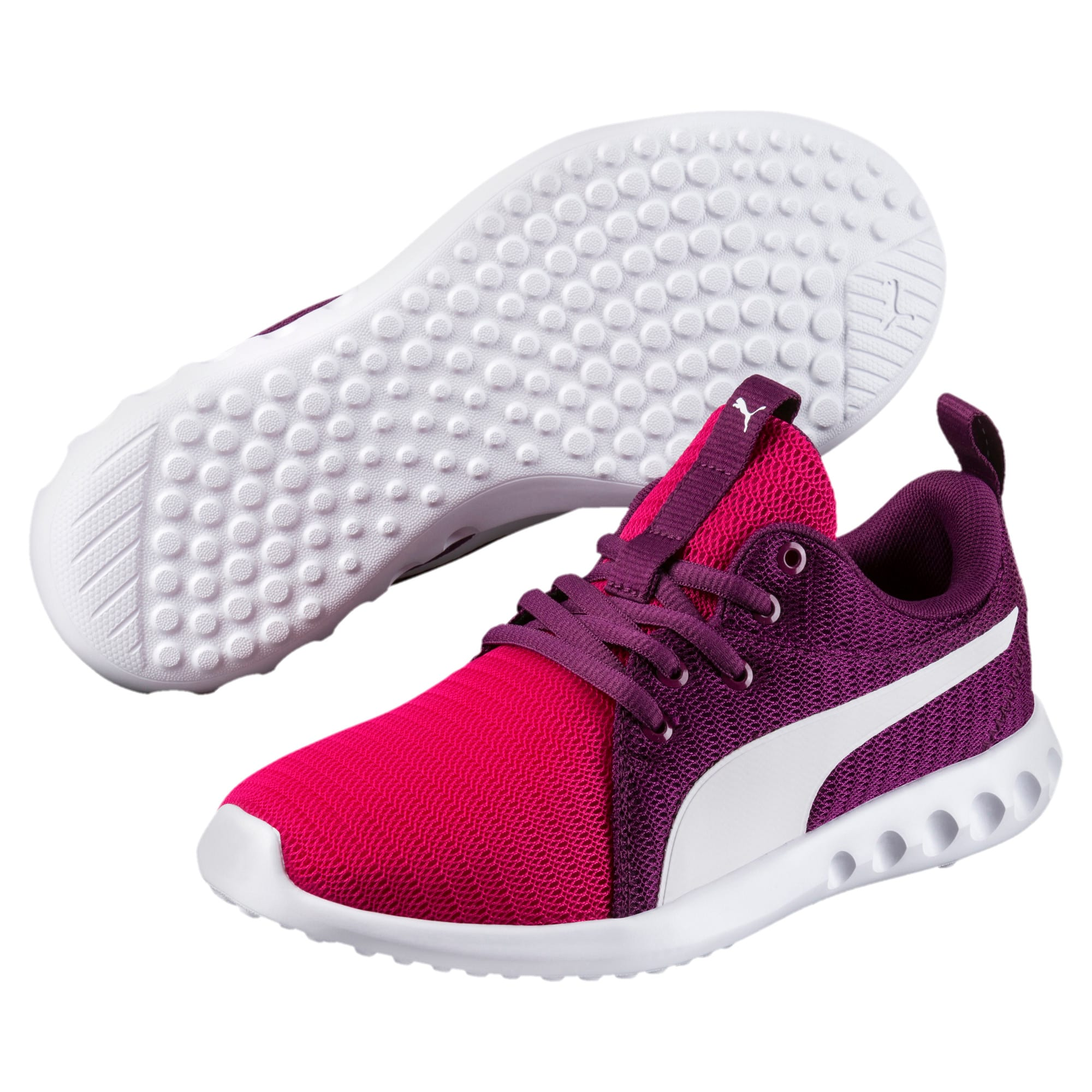 Thumbnail 2 of Carson 2 Youth Trainers, Love Potion-Puma White, medium-IND
