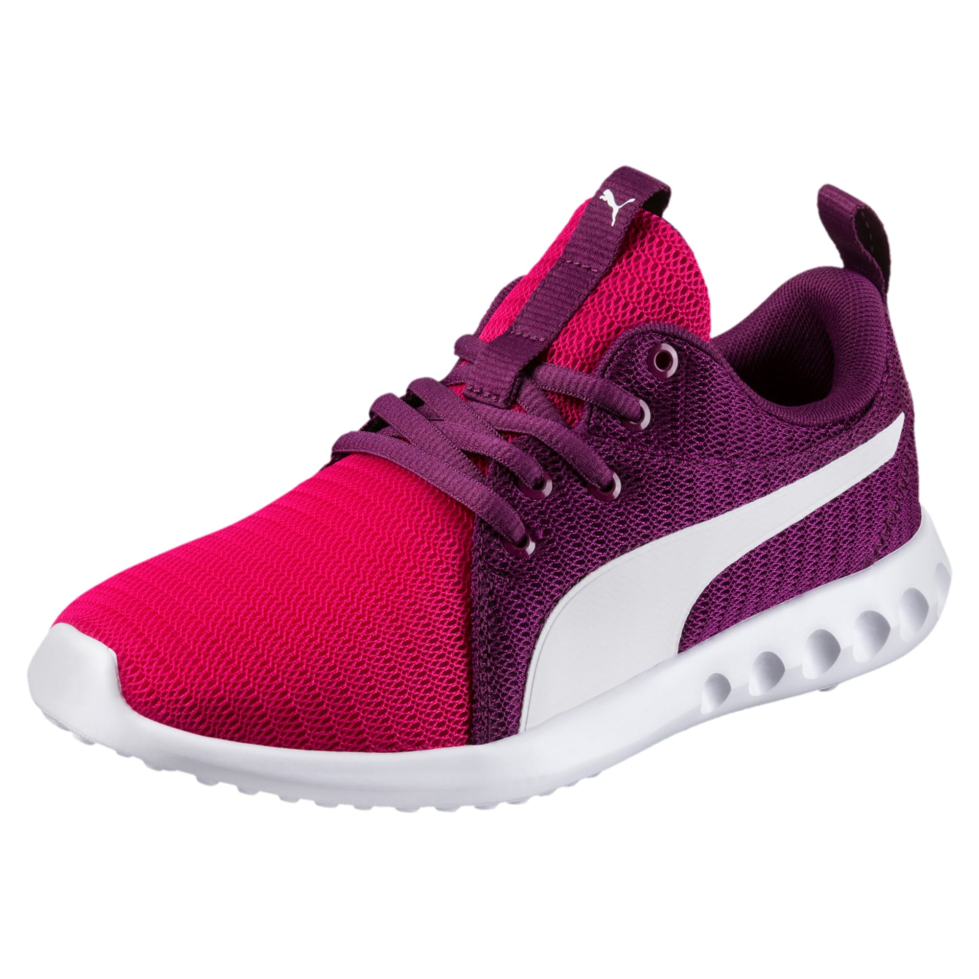 Thumbnail 1 of Carson 2 Youth Trainers, Love Potion-Puma White, medium-IND