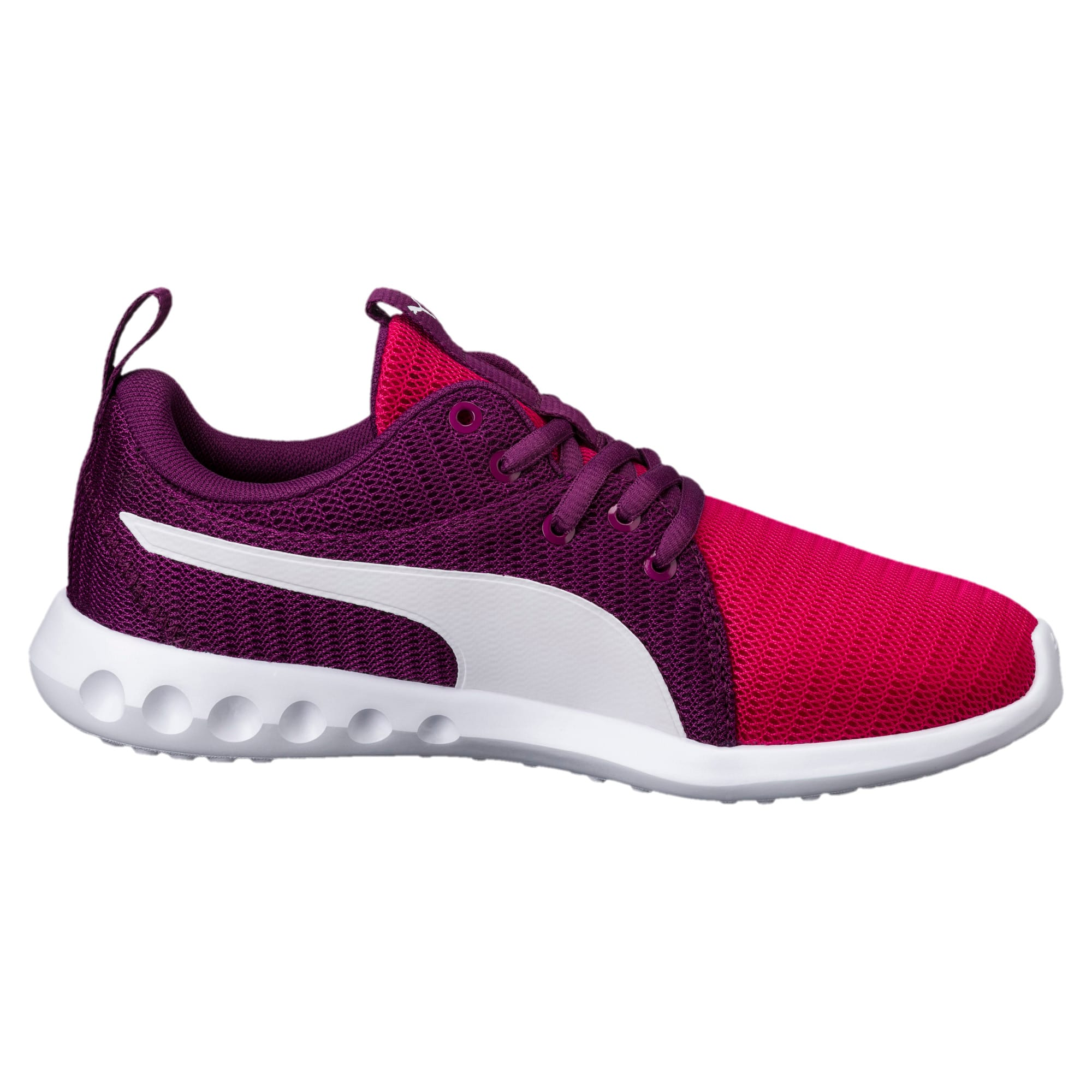 Thumbnail 5 of Carson 2 Youth Trainers, Love Potion-Puma White, medium-IND