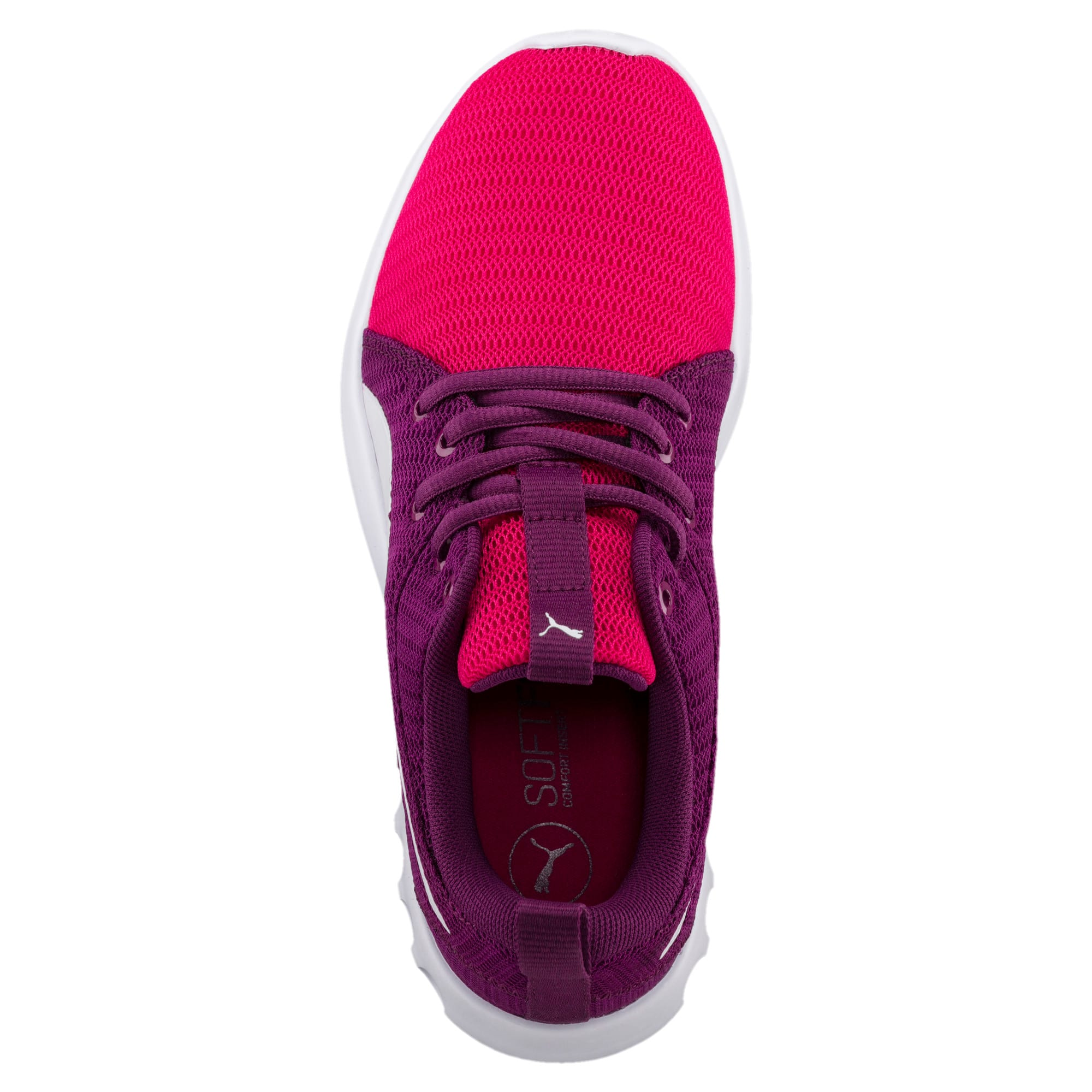 Thumbnail 3 of Carson 2 Youth Trainers, Love Potion-Puma White, medium-IND