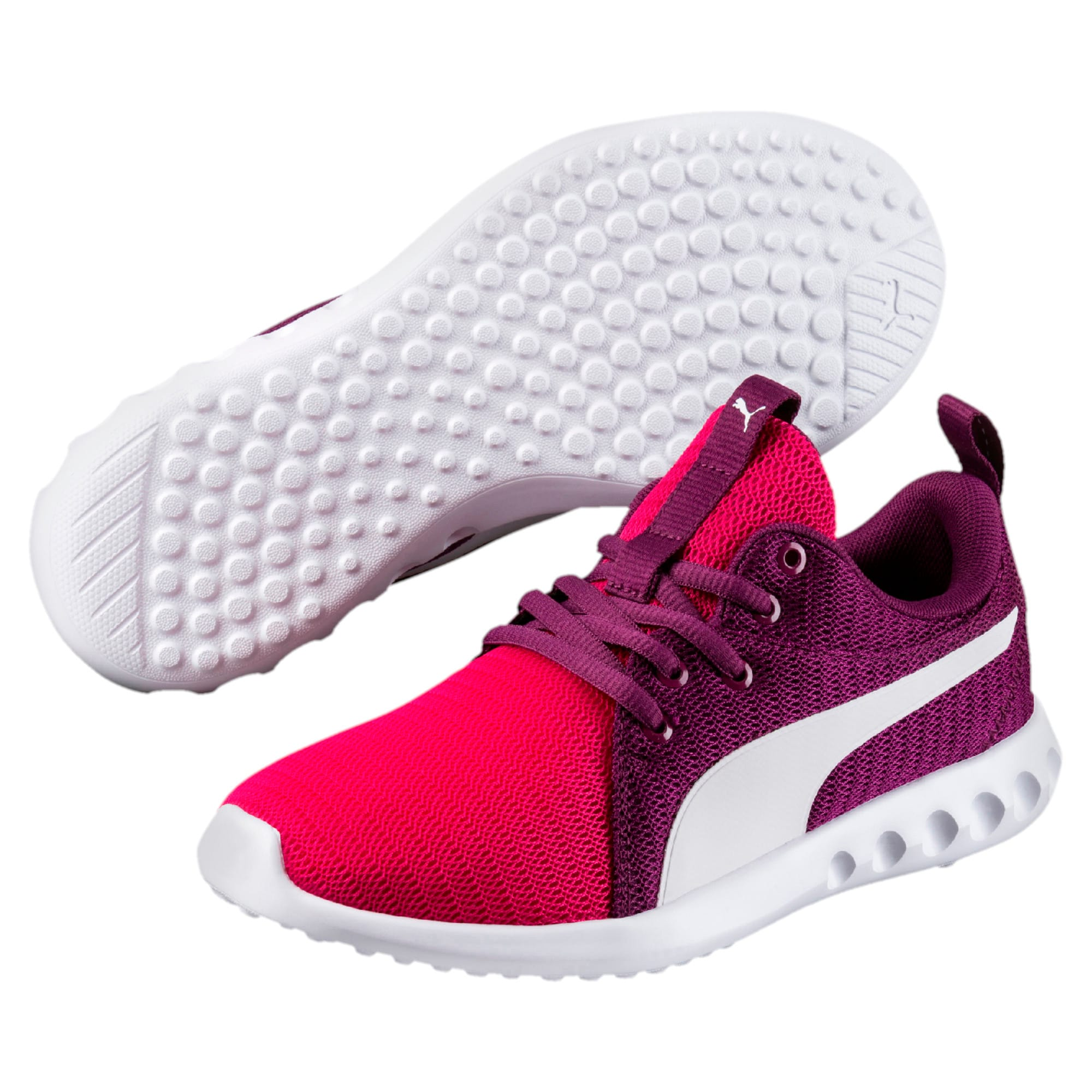 Thumbnail 6 of Carson 2 Youth Trainers, Love Potion-Puma White, medium-IND