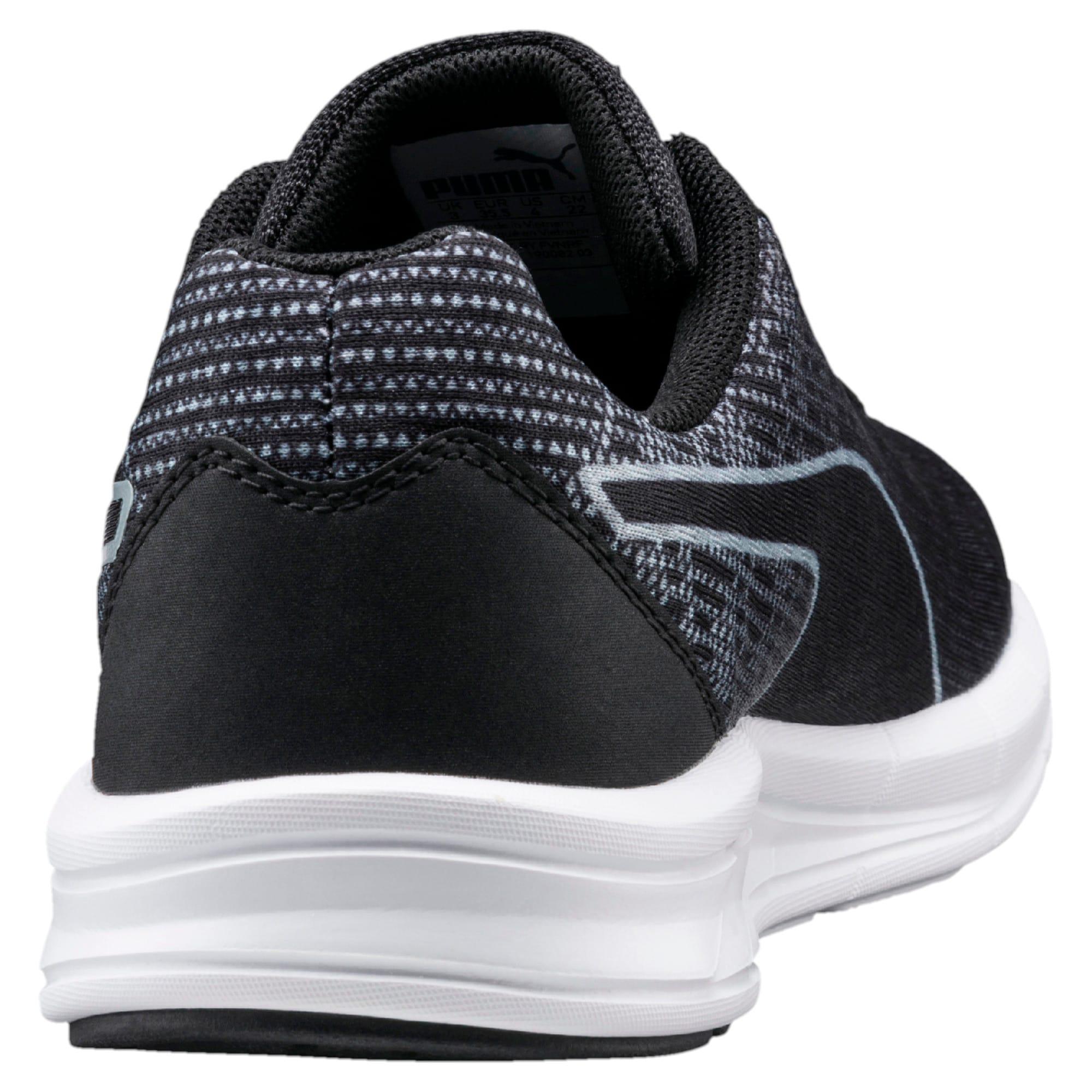 Thumbnail 3 of Comet Kids' Running Shoes, Quarry-Puma Black, medium-IND