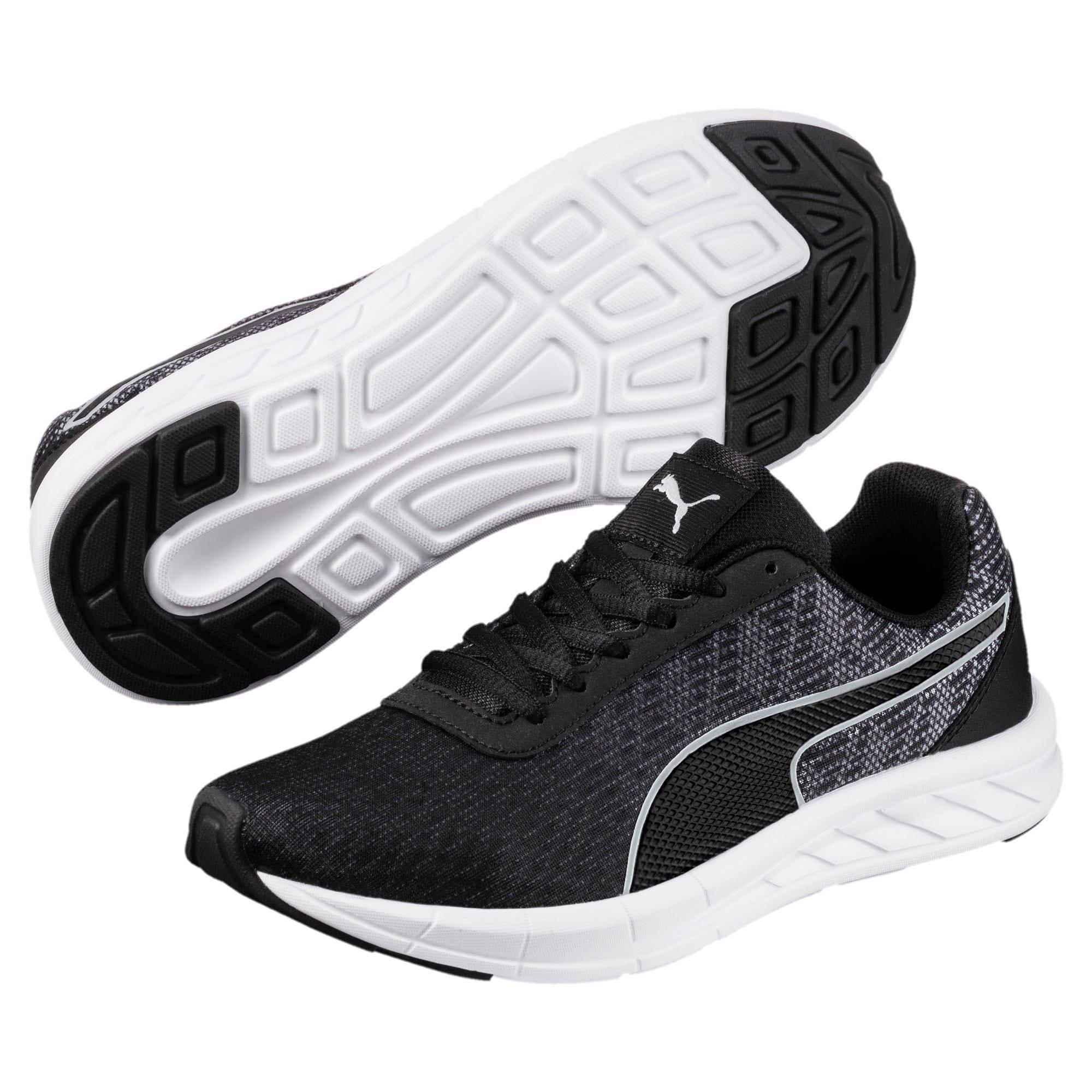 Thumbnail 2 of Comet Kids' Running Shoes, Quarry-Puma Black, medium-IND
